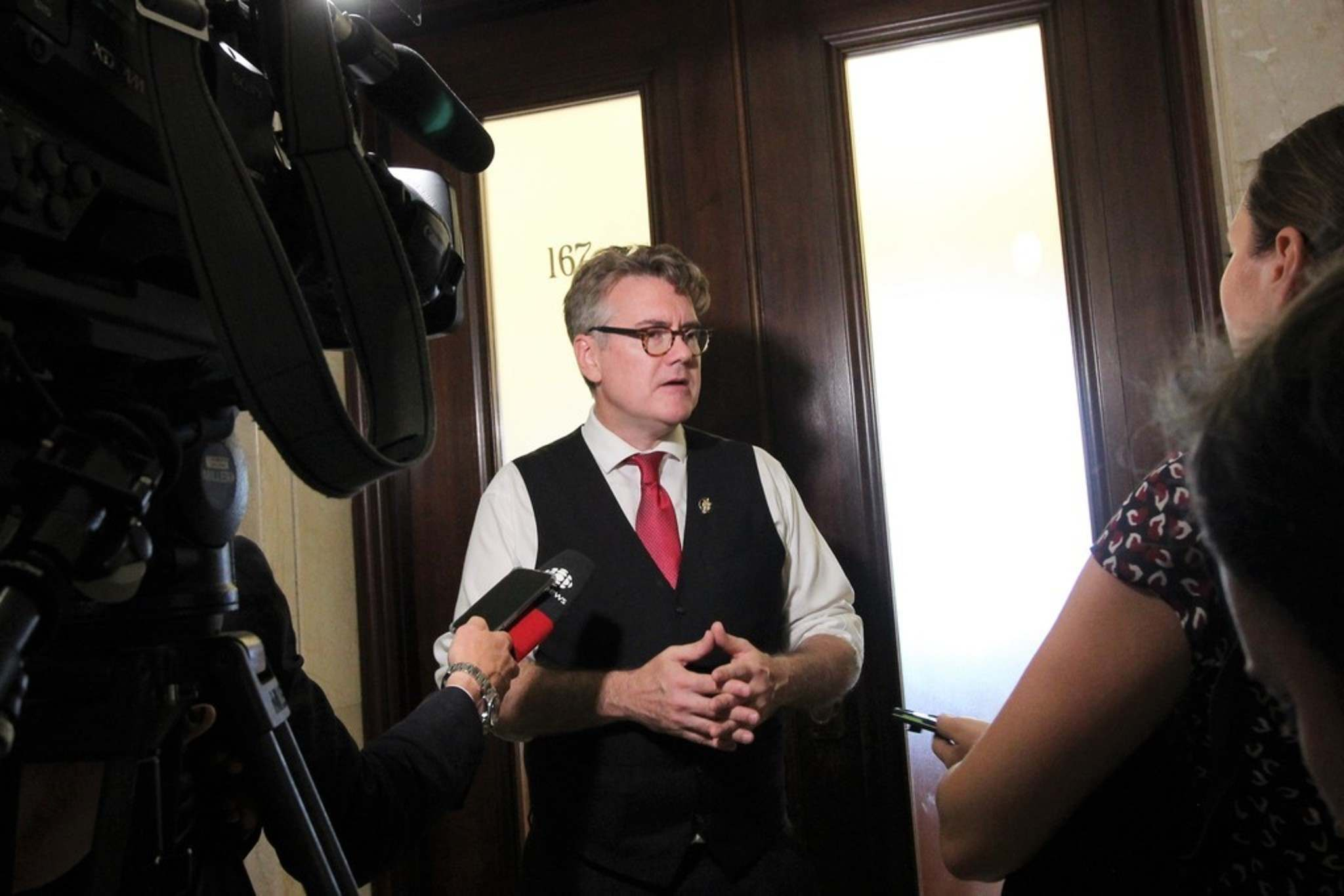 JESSICA BOTELHO-URBANSKI / WINNIPEG FREE PRESS FILES</p><p>The Manitoba Liberal Party leader Dougald Lamont was elected as the MLA for St. Boniface over the summer and took his seat in the legislature, Wednesday.</p>