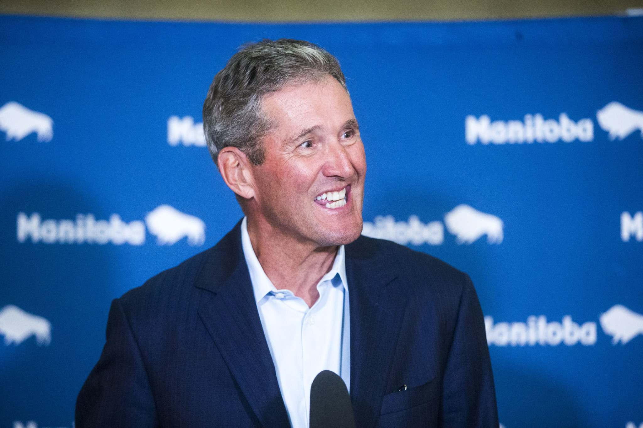 MIKAELA MACKENZIE / WINNIPEG FREE PRESS FILES</p><p>Premier Brian Pallister&#39;s Progressive Conservative Party enjoys a comfortable lead in popularity over its political opponents according to a Probe Research poll.</p>