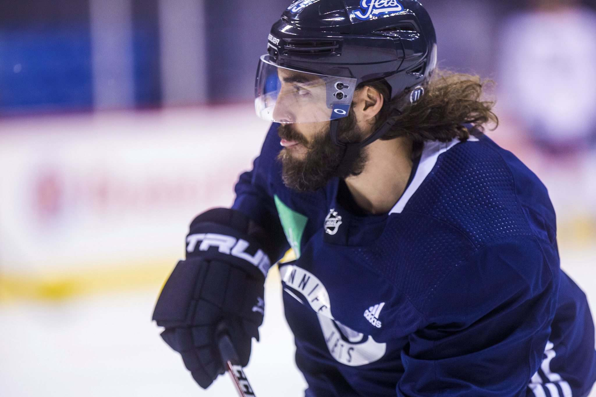 Mathieu Perreault will play in his 500th regular-season game tonight. (Mikaela MacKenzie / Free Press files)</p></p>
