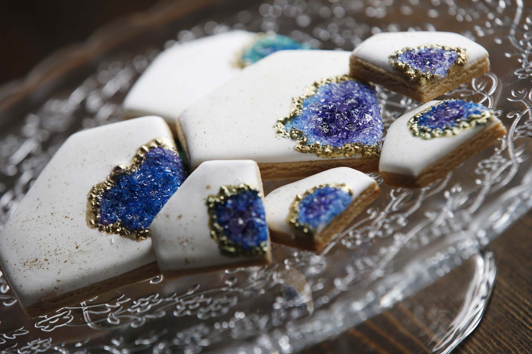 Strauman and Vendivil spent years perfecting their colourful confections.</p>