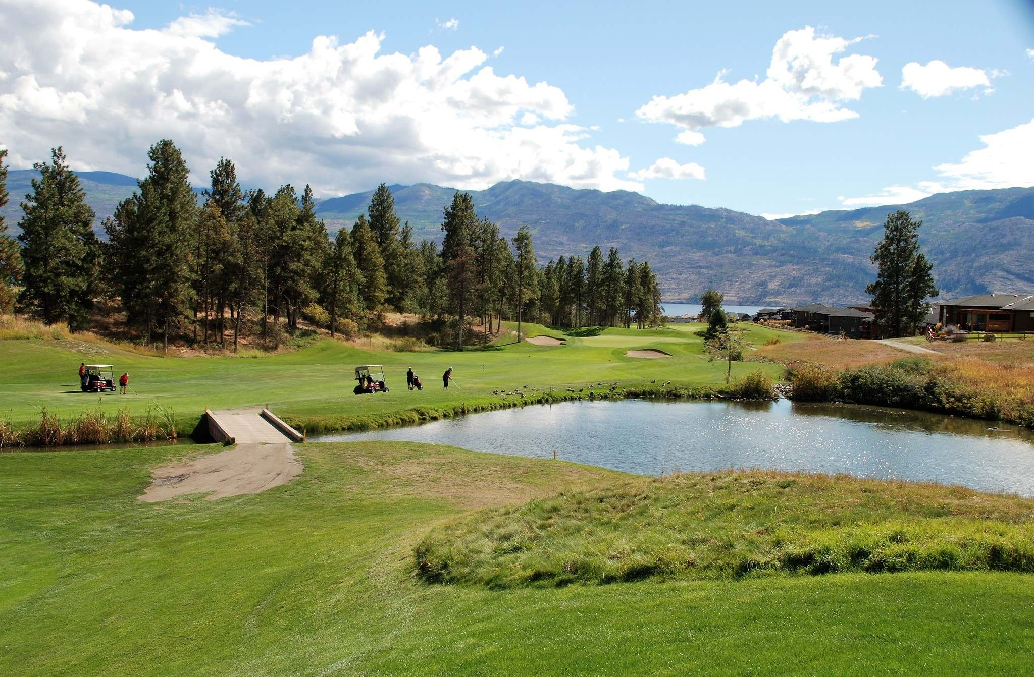 Ron Pradinuk / Winnipeg Free Press</p><p>The Two Eagles golf course in West Kelowna offers a less challenging layout than other courses in the area, but its beautiful scenery makes it easy to recommend, possibly as a warm-up for future rounds. </p>