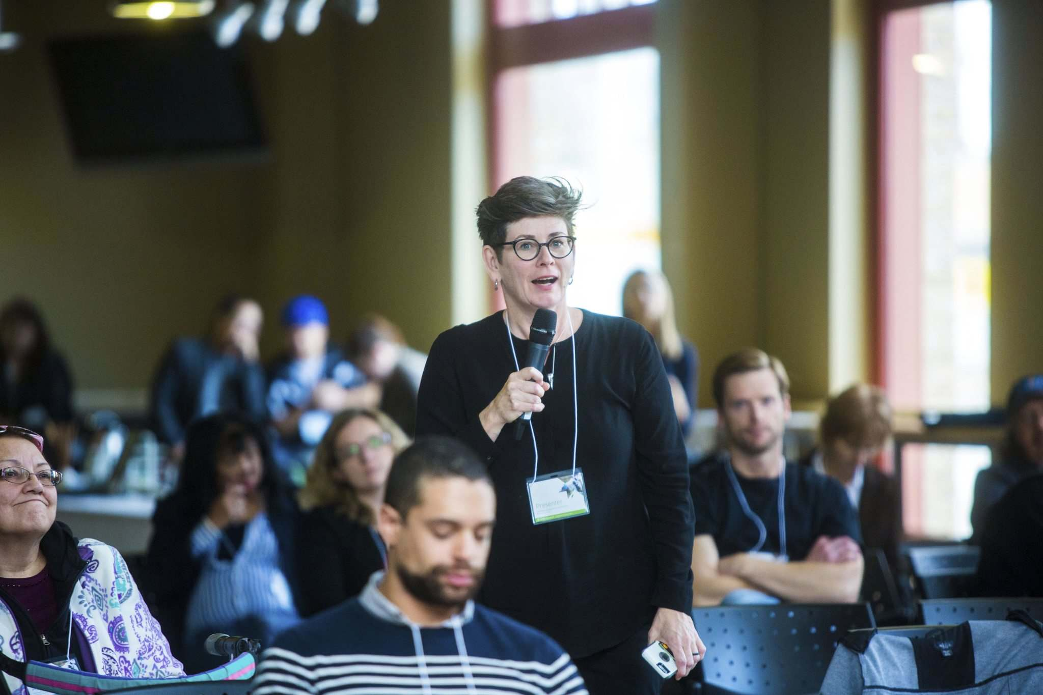 MIKAELA MACKENZIE photos / WINNIPEG FREE PRESS</p><p>Dr. Shelley Turner from OneLeaf Cannabis speaks at a marijuana legalization conference led by Red River College's School of Indigenous Education on Friday. A new course is being introduced to teach the ins and outs of the industry.</p>