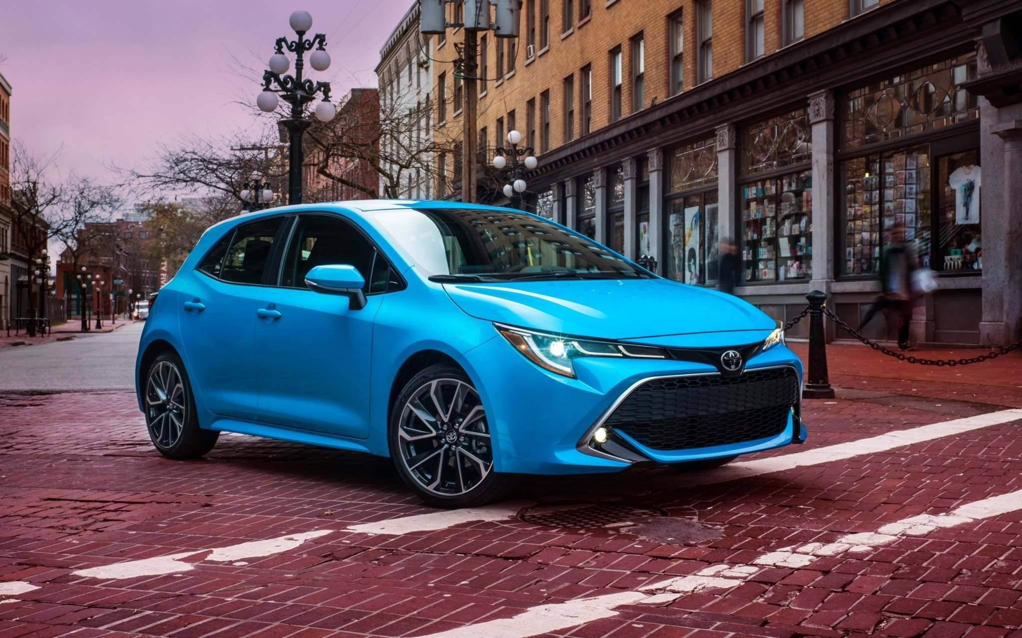 ToyotaThe 2019 Toyota Corolla Hatchback is based on a new platform that it shares with the company's most recent small cars and crossovers.