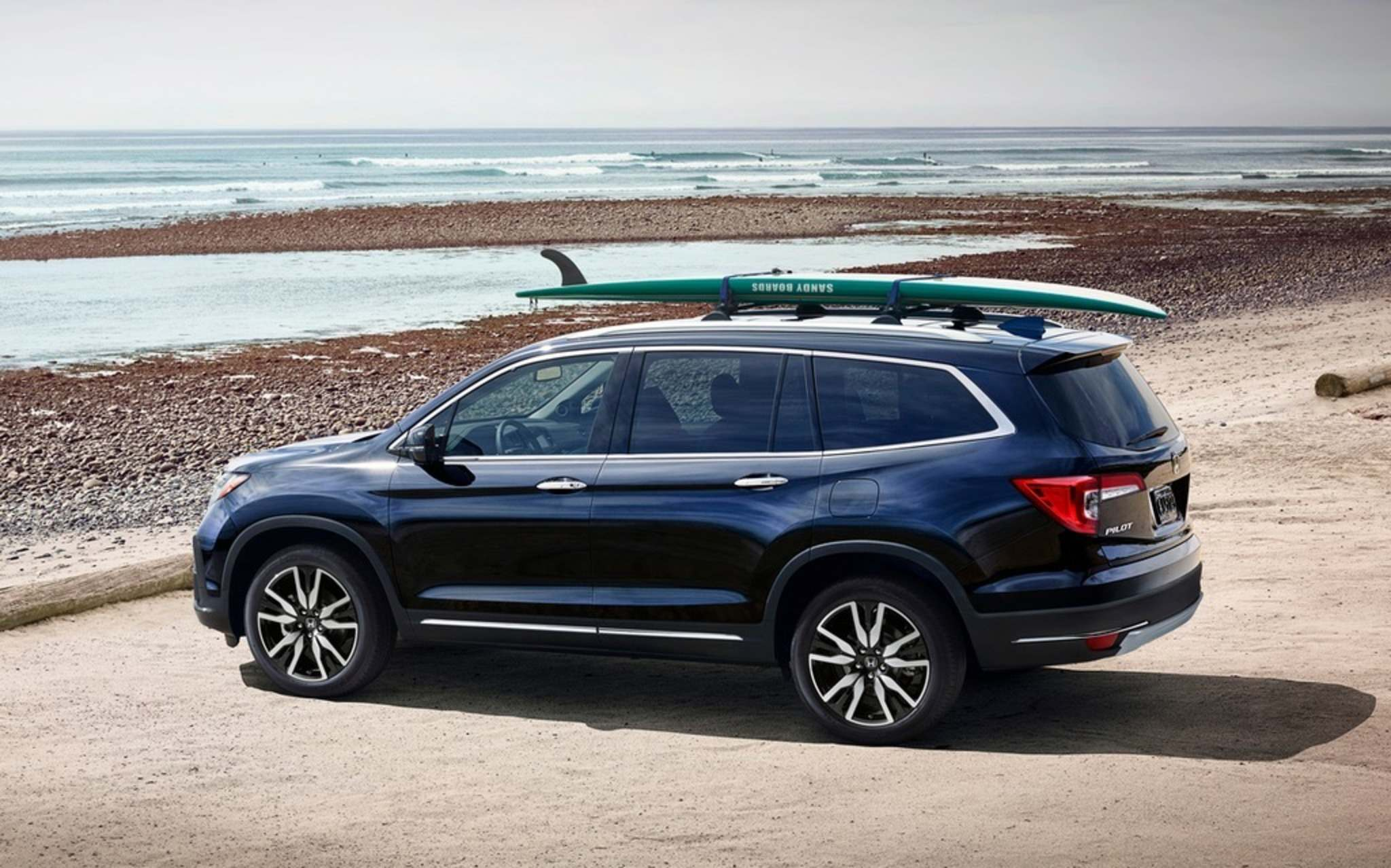 Photos by HondaThe Honda Pilot returns to Canada in 2019 with the exclusive Black Edition. New design features combined with familiar cargo space makes the Pilot a great family option.