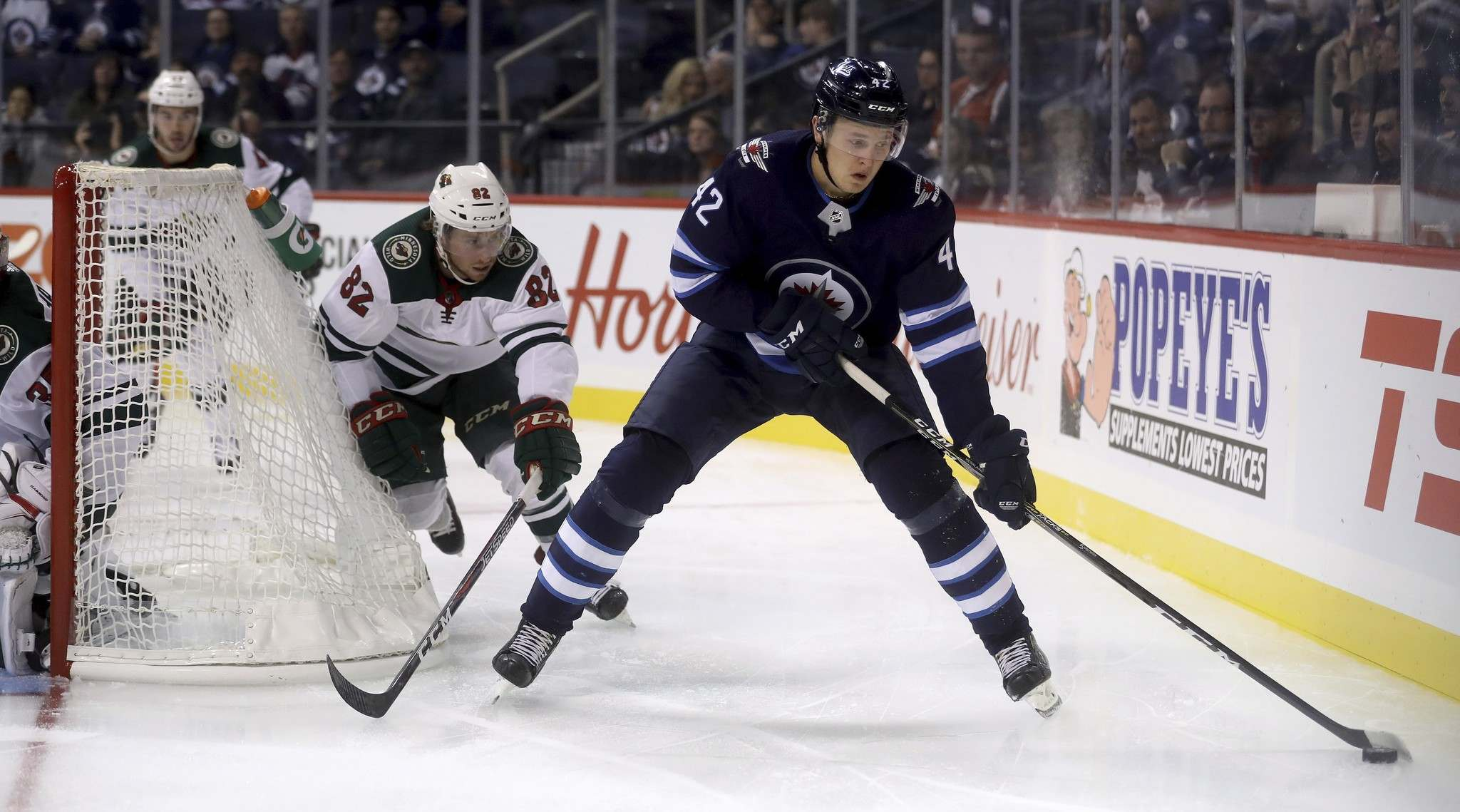 <p>The Winnipeg Jets 2017 first-rounder Kristian Vesalainen is the only Jets draft pick since the 2016 draft to play any NHL games.