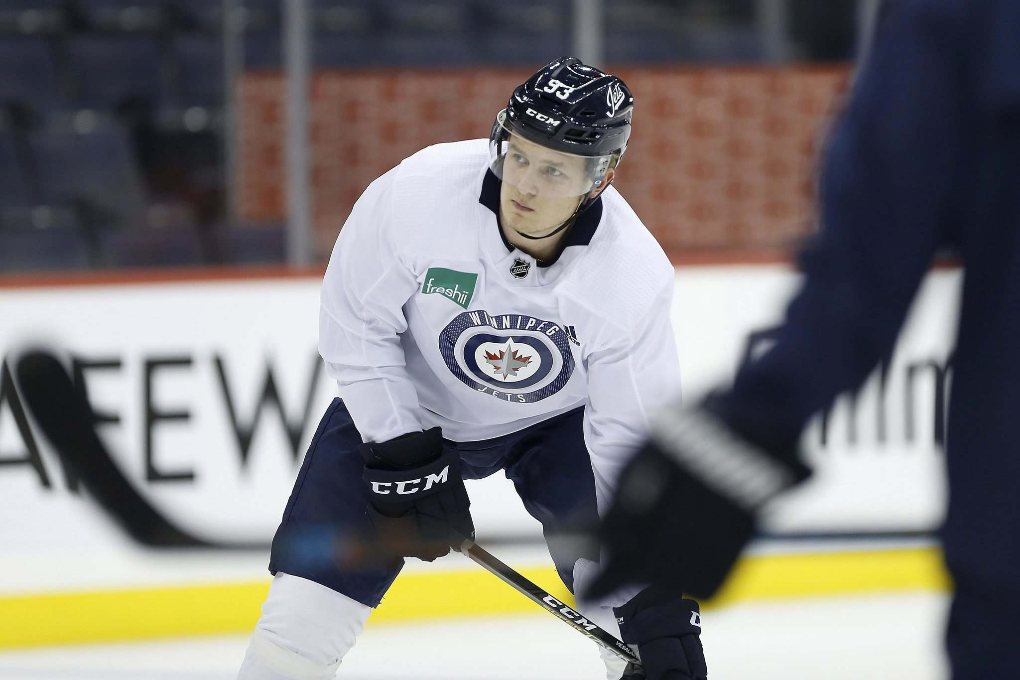 Winnipeg Jets' Kristian Vesalainen will be playing for Jokerit of the KHL in Helsinki, Finland.