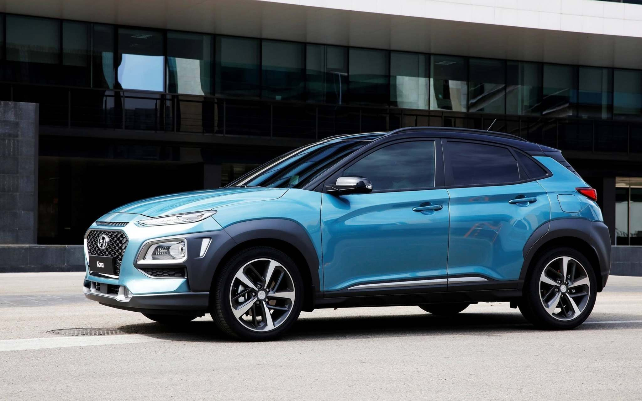The Hyundai Kona is an inexpensive crossover option with all wheel drive.
