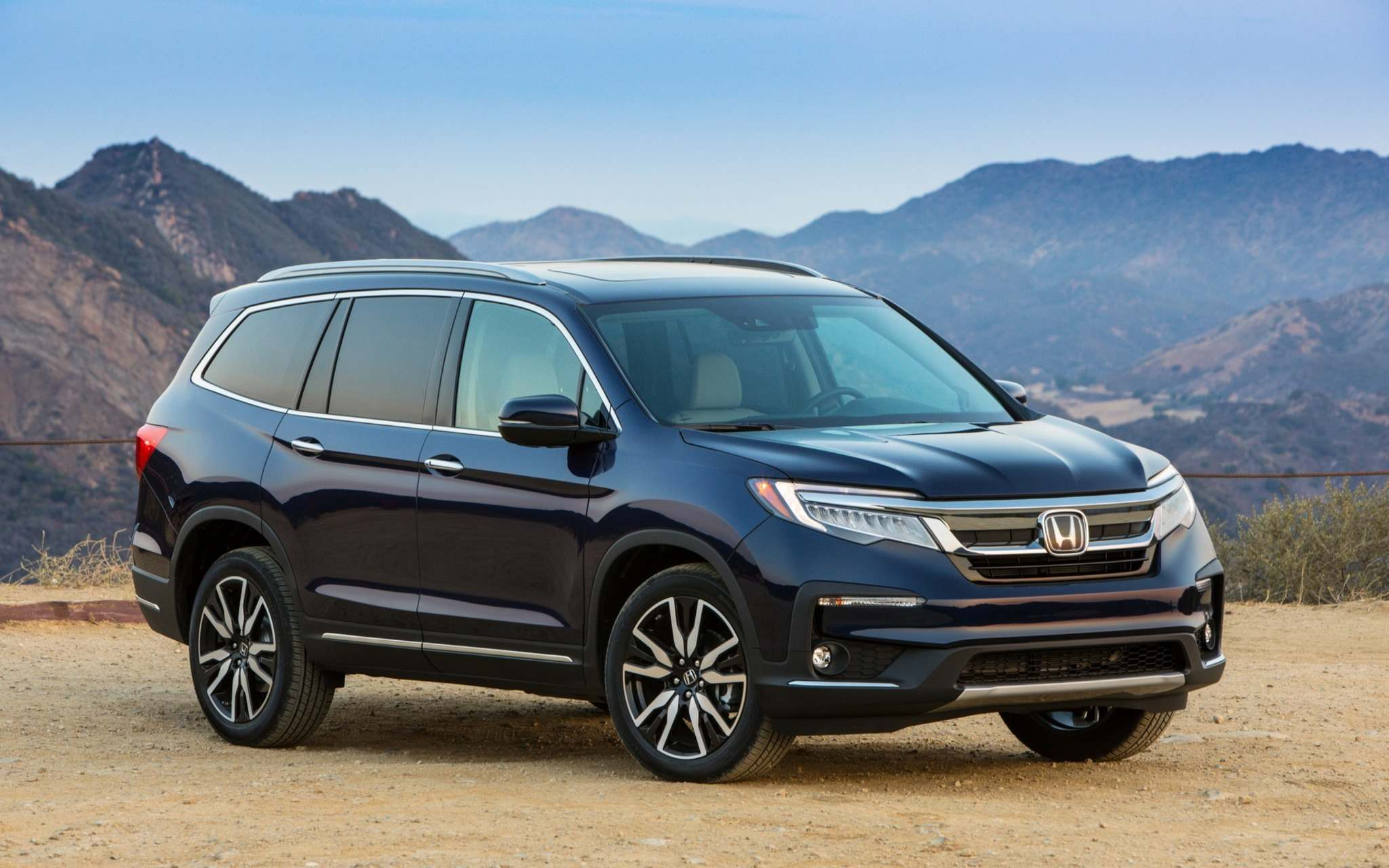 HondaWith seating for eight and high-tech features, the Honda Pilot is tough to beat.