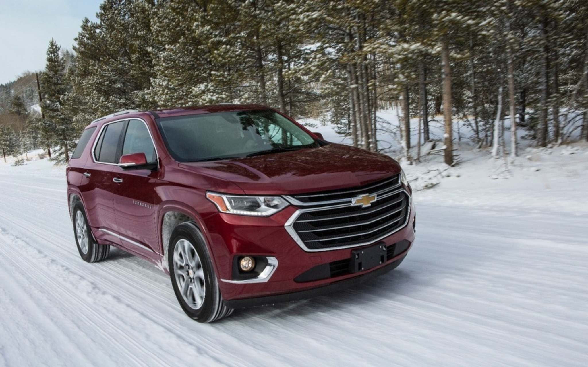 LC MediaThe Chevrolet Traverse finished second on the Car Guide's 2019 midsize SUV list.