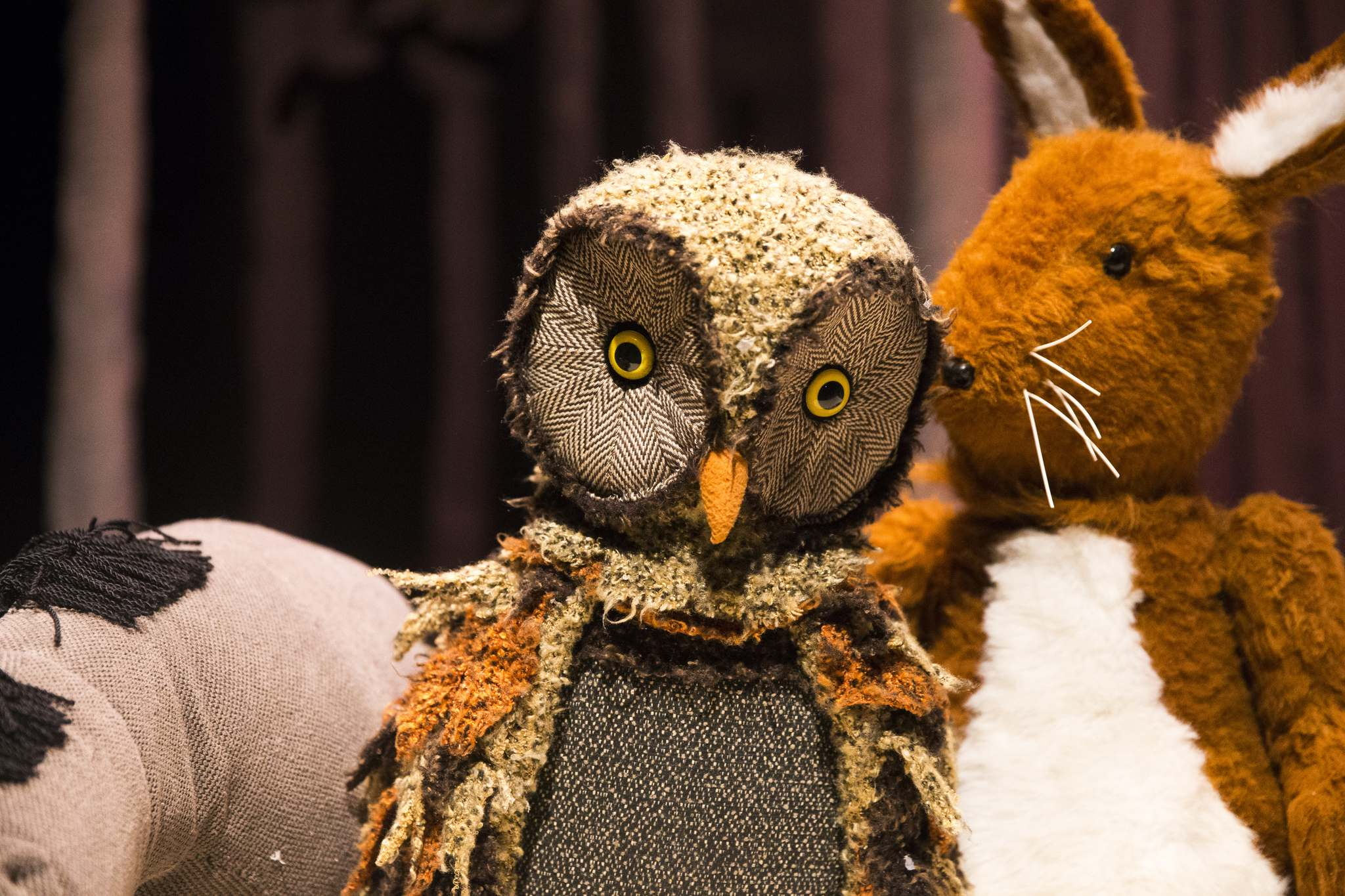 """""""Owl comes off as a very wise character but is quite clueless in the end,"""" says Richards."""