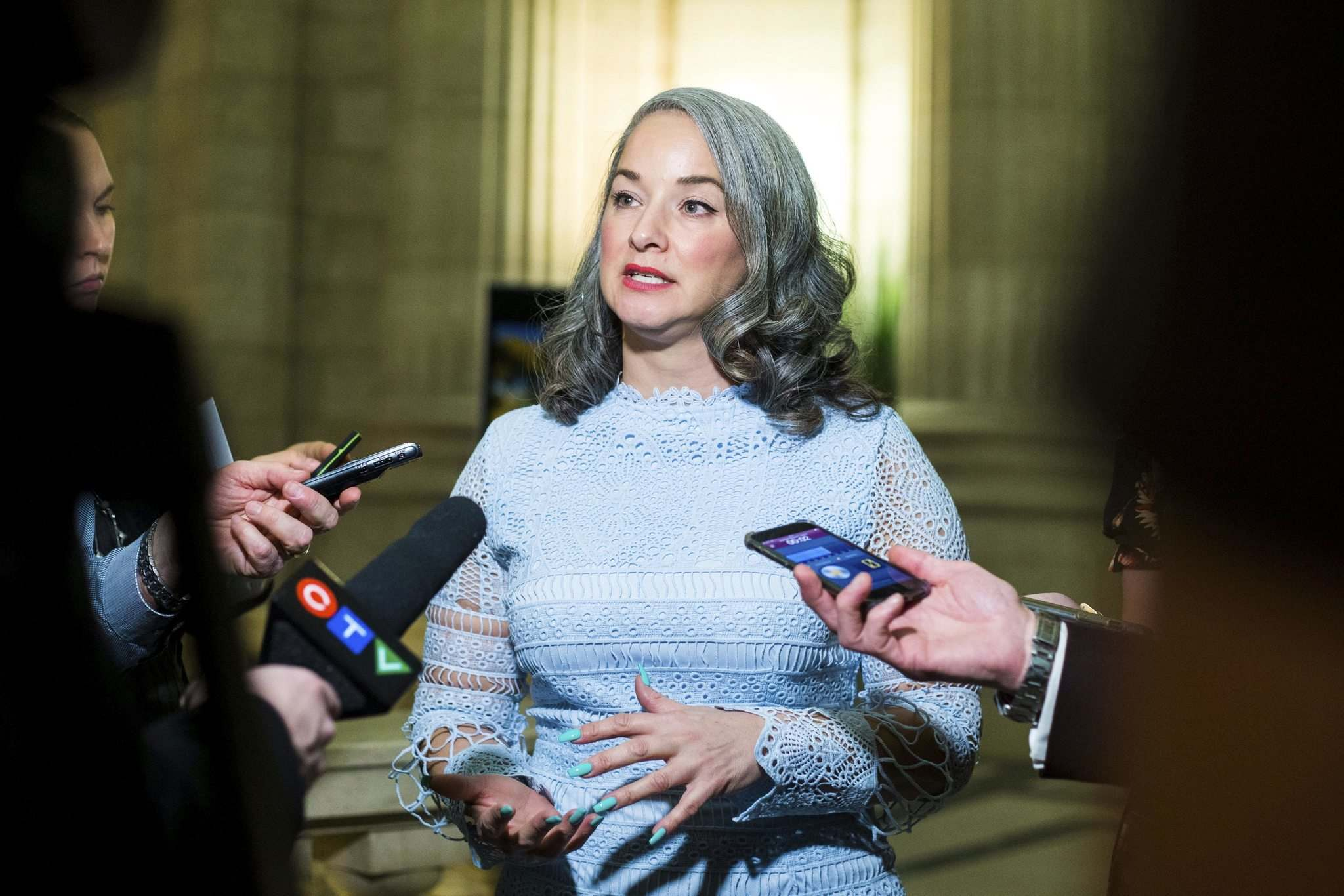 NDP MLA Nahanni Fontaine introduced a bill that would limit protests immediately surrounding facilities that provide abortions. (Mikaela MacKenzie / Winnipeg Free Press files)
