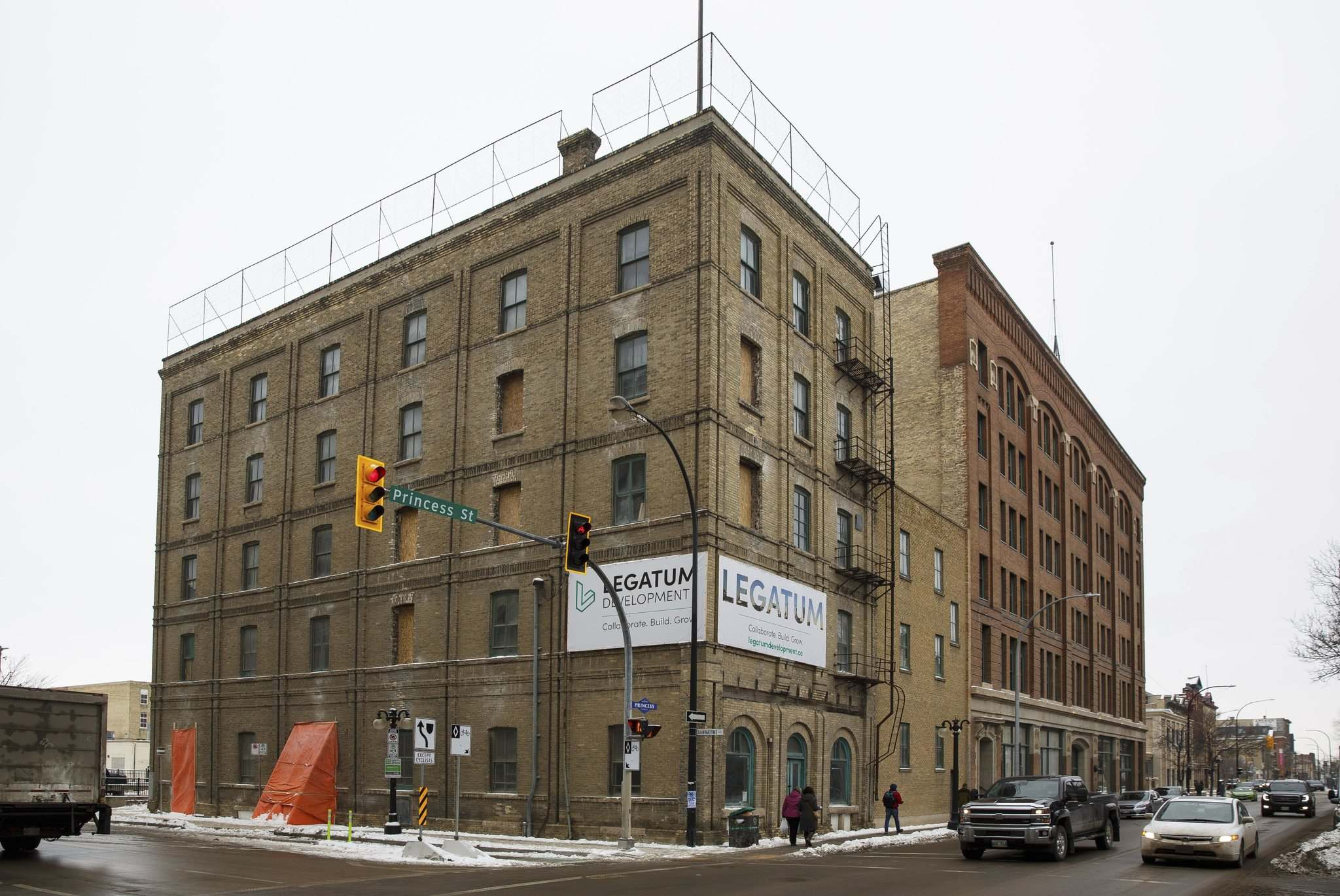 MIKE DEAL / WINNIPEG FREE PRESS files</p><p>Warehouse 1885 showcases the repurposing of an Exchange District building erected in 1885. The building, on the 100 block of Princess Street, will feature a 39-unit residential complex.</p>