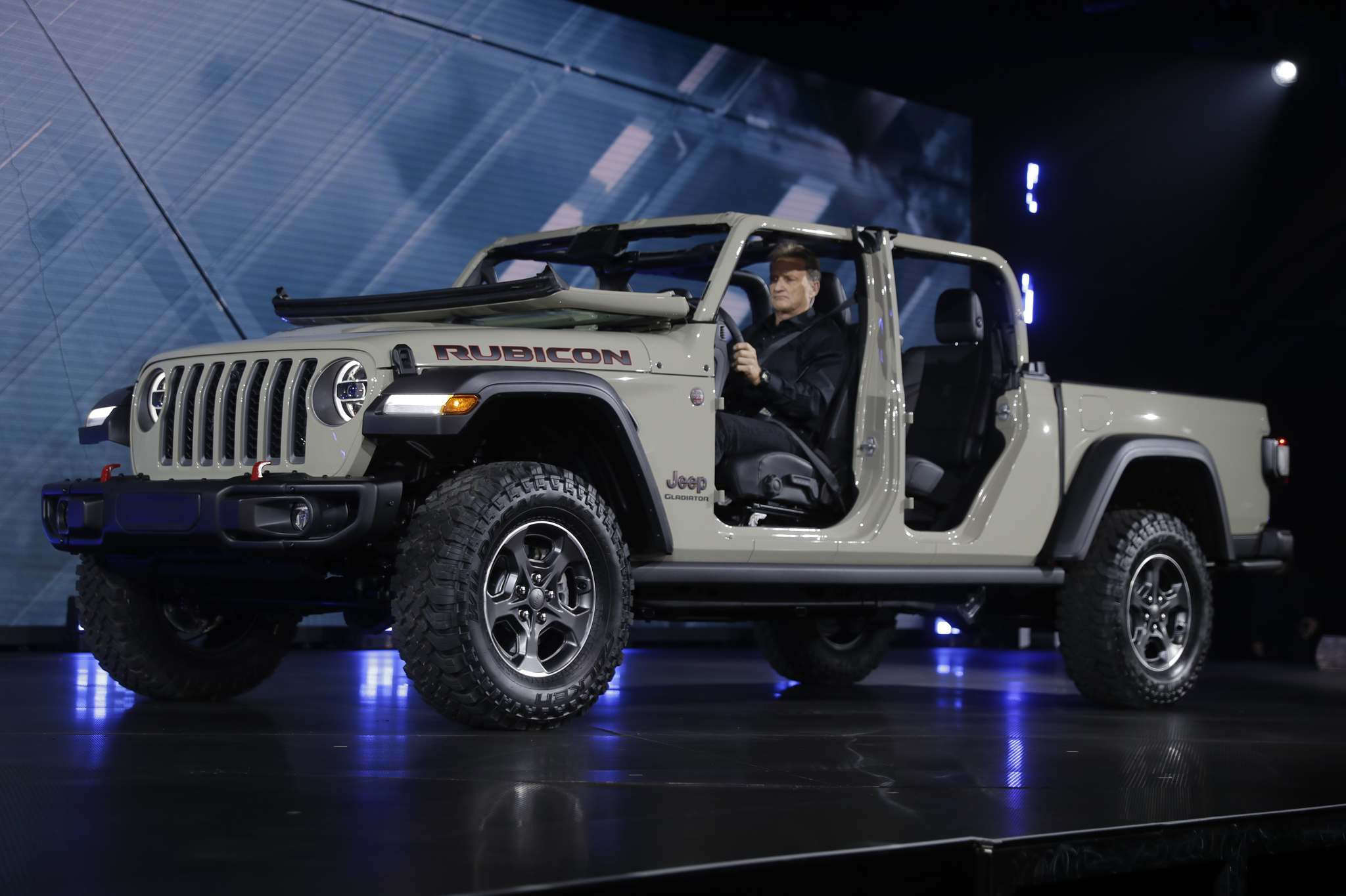 CHRIS CARLSON / THE ASSOCIATED PRESS FILESJeep's new Gladiator was revealed at the Los Angeles Auto Show, reviving a brand that was in production almost continuously from 1947 to 1992.
