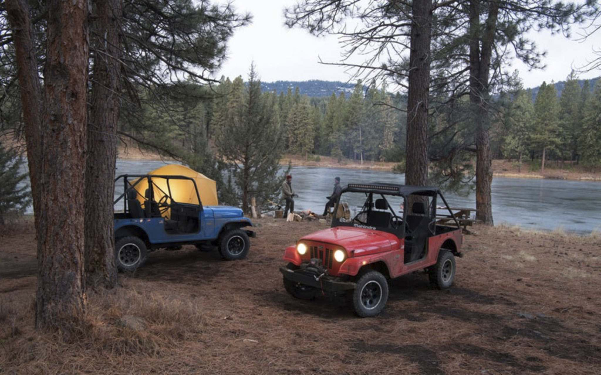 SUPPLIEDThe Mahindra Roxor is a Jeep look-alike ATV, comparable to a side-by-side.
