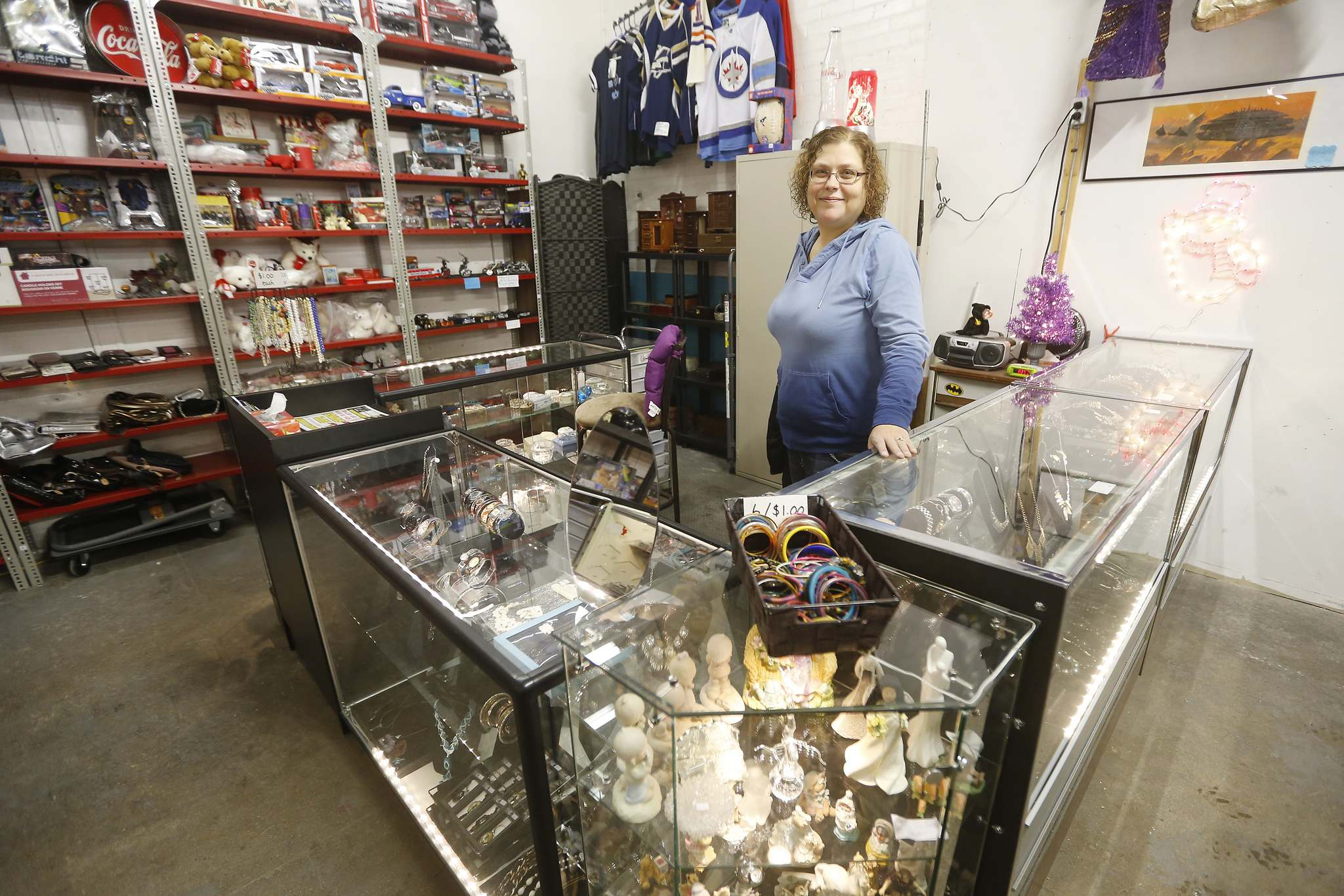Elizabeth Faria reopened as Ice Dragon Collectibles following the death of her mother, a longtime vendor.</p>