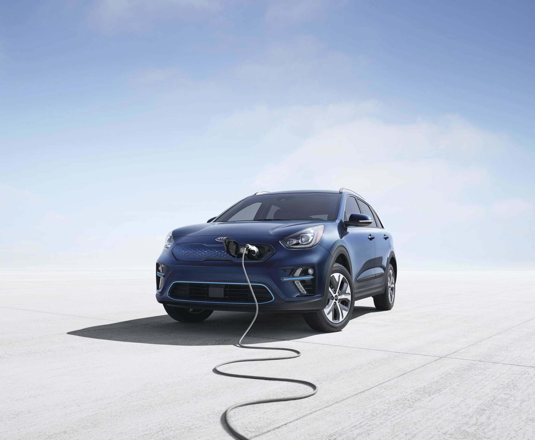 Kia The 2019 Kia Niro EV is expected to have a range of 384 kilometres.