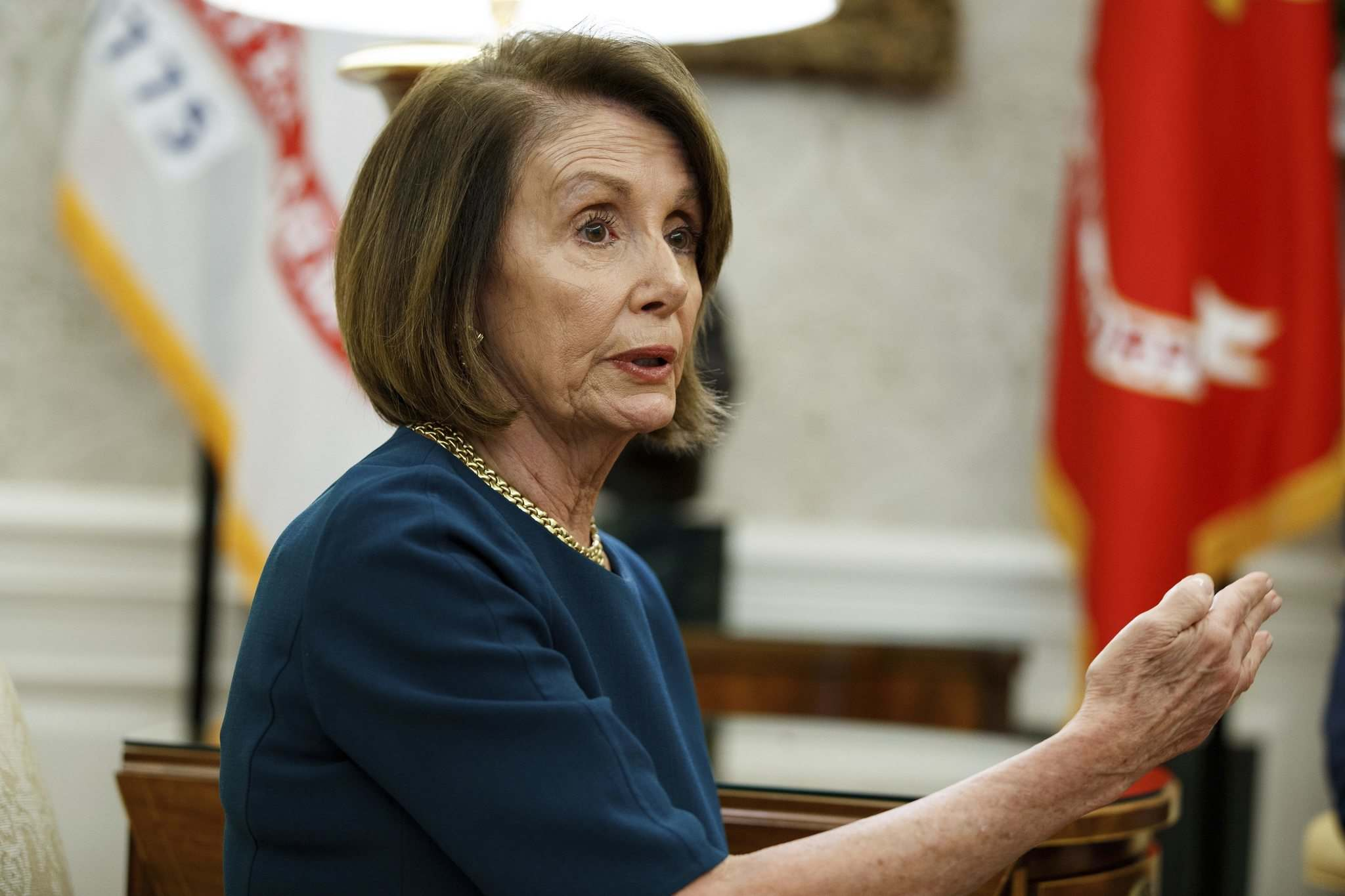 Democratic House Minority Leader Nancy Pelosi. (Evan Vucci / Associated Press files)