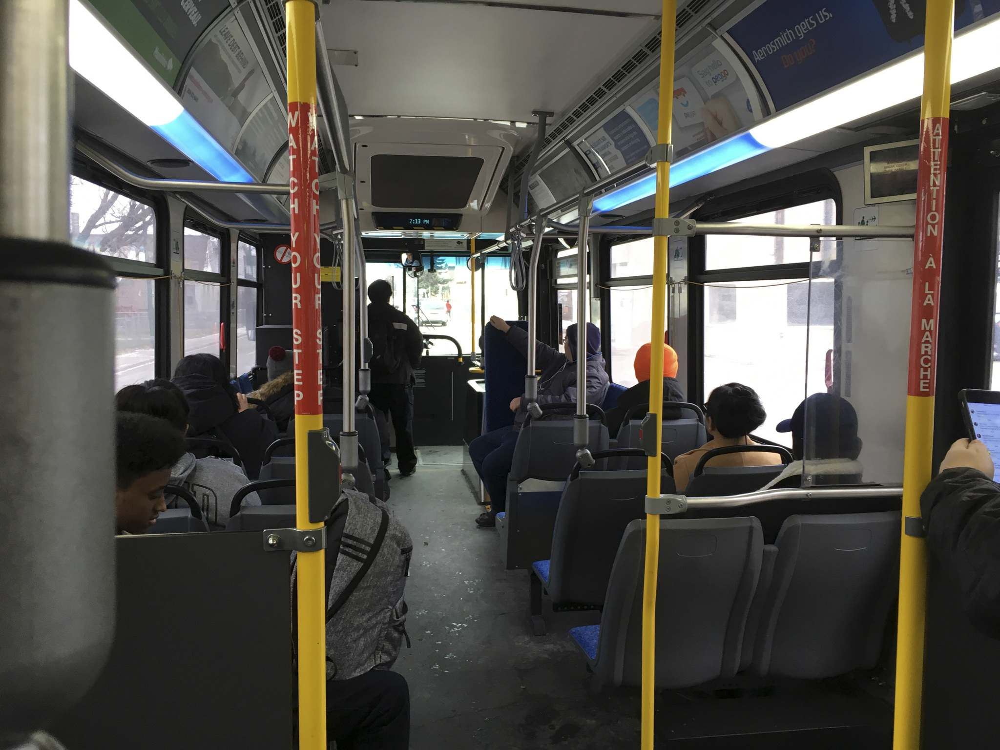 The Main Street Project has developed a half-day training session for bus drivers, but the city only pays to give the course to new drivers as part of their six-week training. (Kevin Rollason / Winnipeg Free Press files)