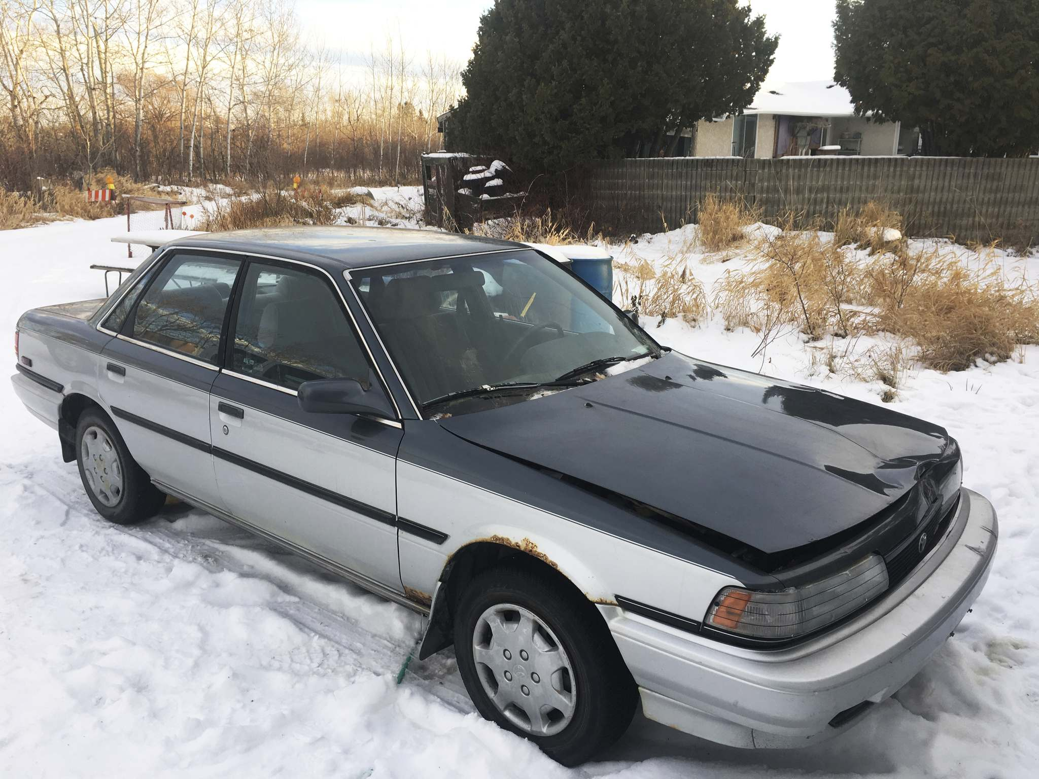Photos by Willy Williamson / Winnipeg Free PressWilly recently rescued this battered 1991 Toyota Camry LE 4WD. Camrys of this vintage are known for their longevity, but the four-wheel-drive version is a rarity.
