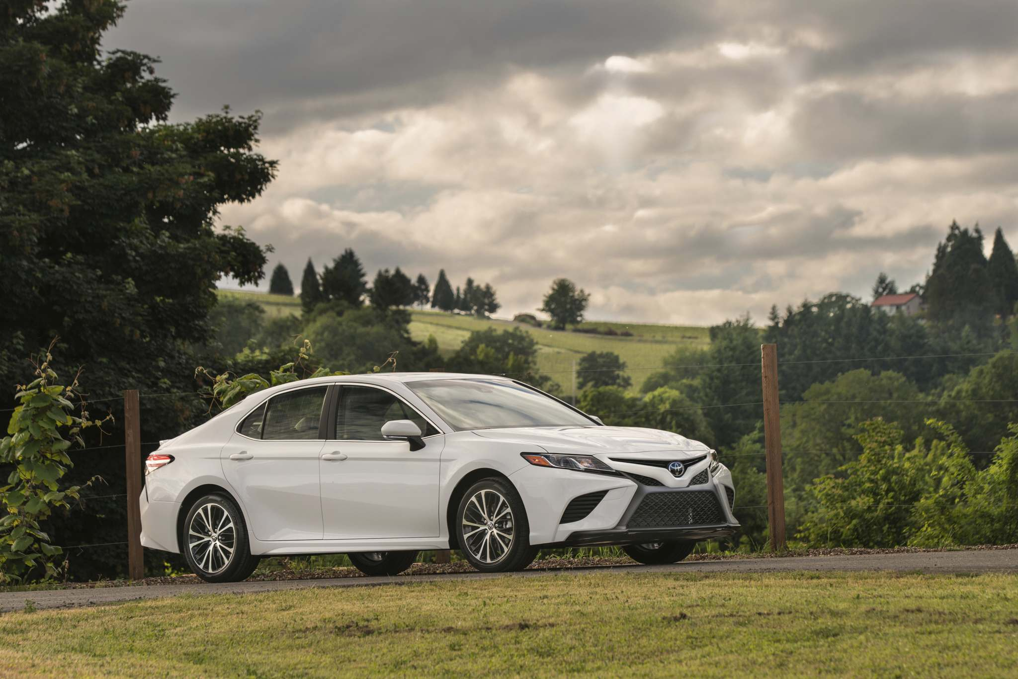 TOYOTAThe Toyota Camry was the second-place pick among mid-size sedans. It drew attention for a comfortable ride, its interior space and fuel-efficient engine.