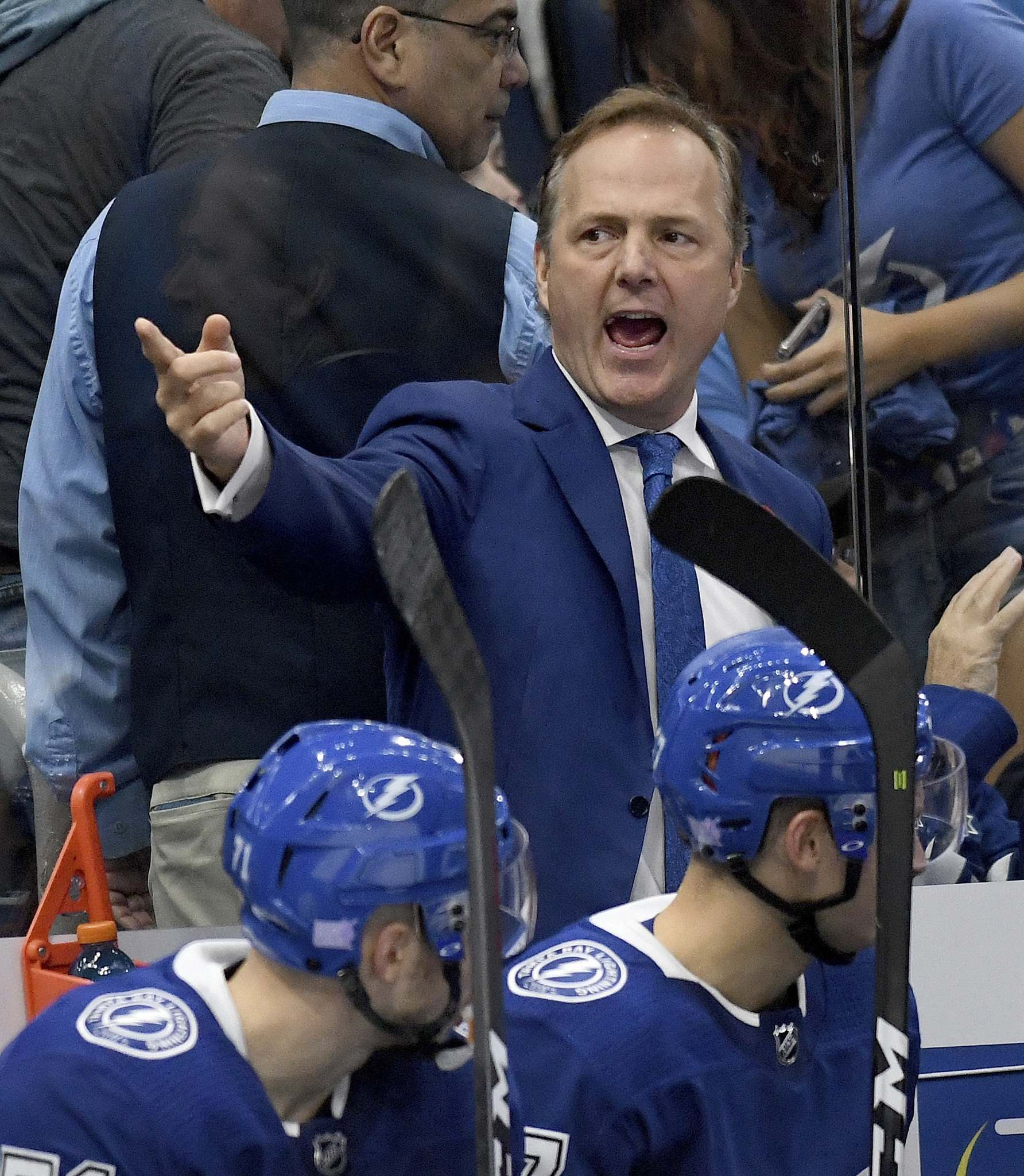 JASON BEHNKEN / THE ASSOCIATED PRESS FILES</p><p>Does having a good team automatically qualify you for coach of the year? No, but Jon Cooper's work with the Tampa Bay Lightning has been nothing short of spectacular.</p>