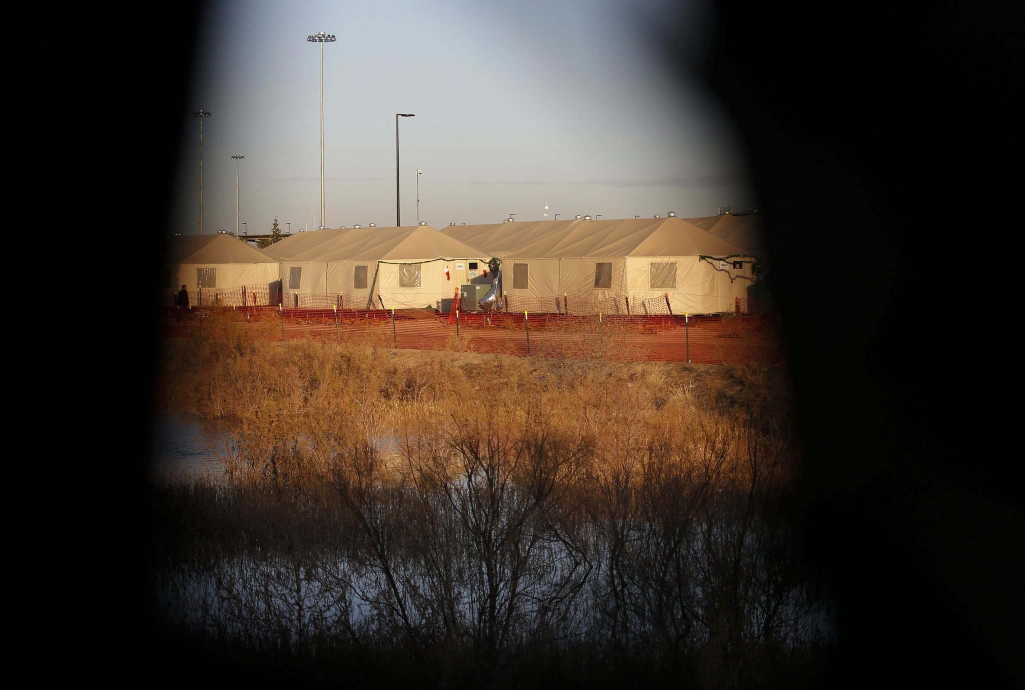 In the U.S., children of asylum seekers were forced into detention camps. (Andres Leighton / The Associated Press files)