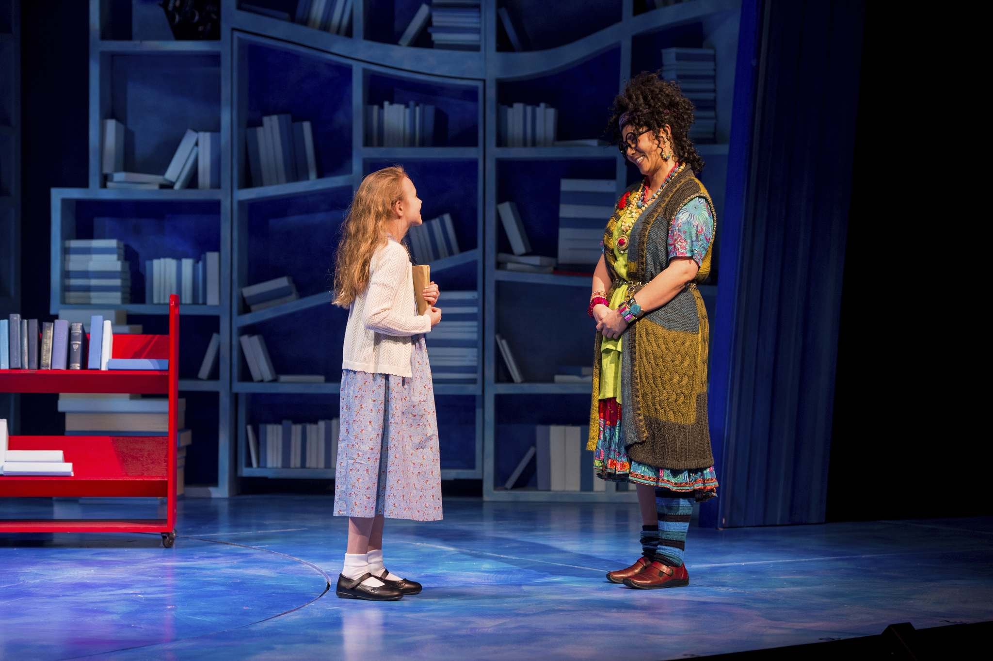Anna Anderson-Epp and Sharon Crandall in Matilda. Photos by Dylan Hewlett.</p></p>