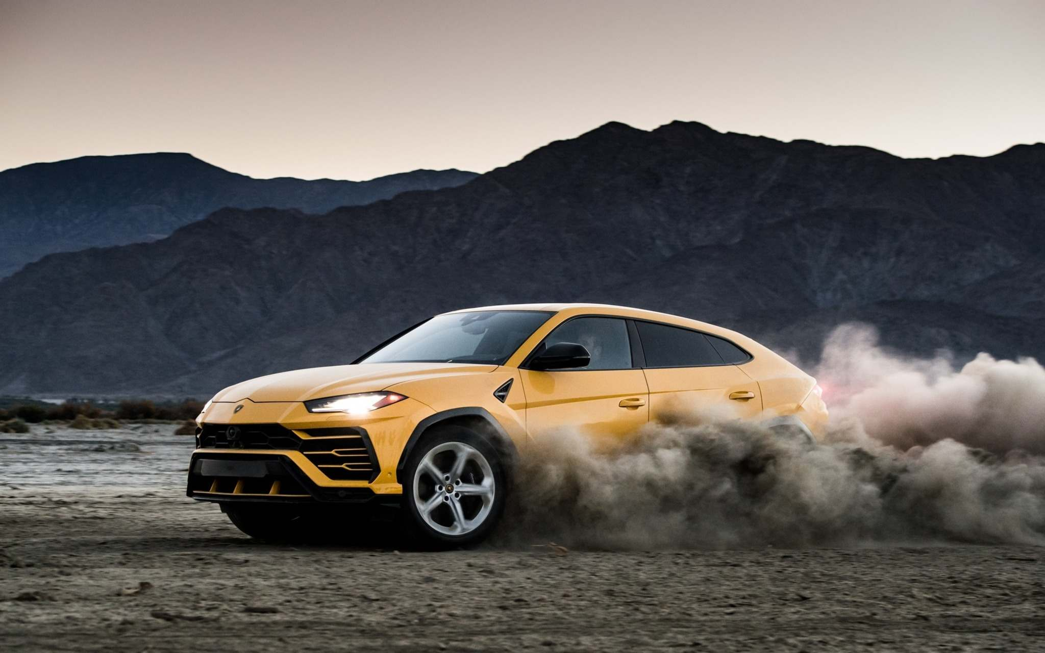 The unique shape of Lamborghini's Urus sets it apart from other SUVs. (Photos by Lamborghini)