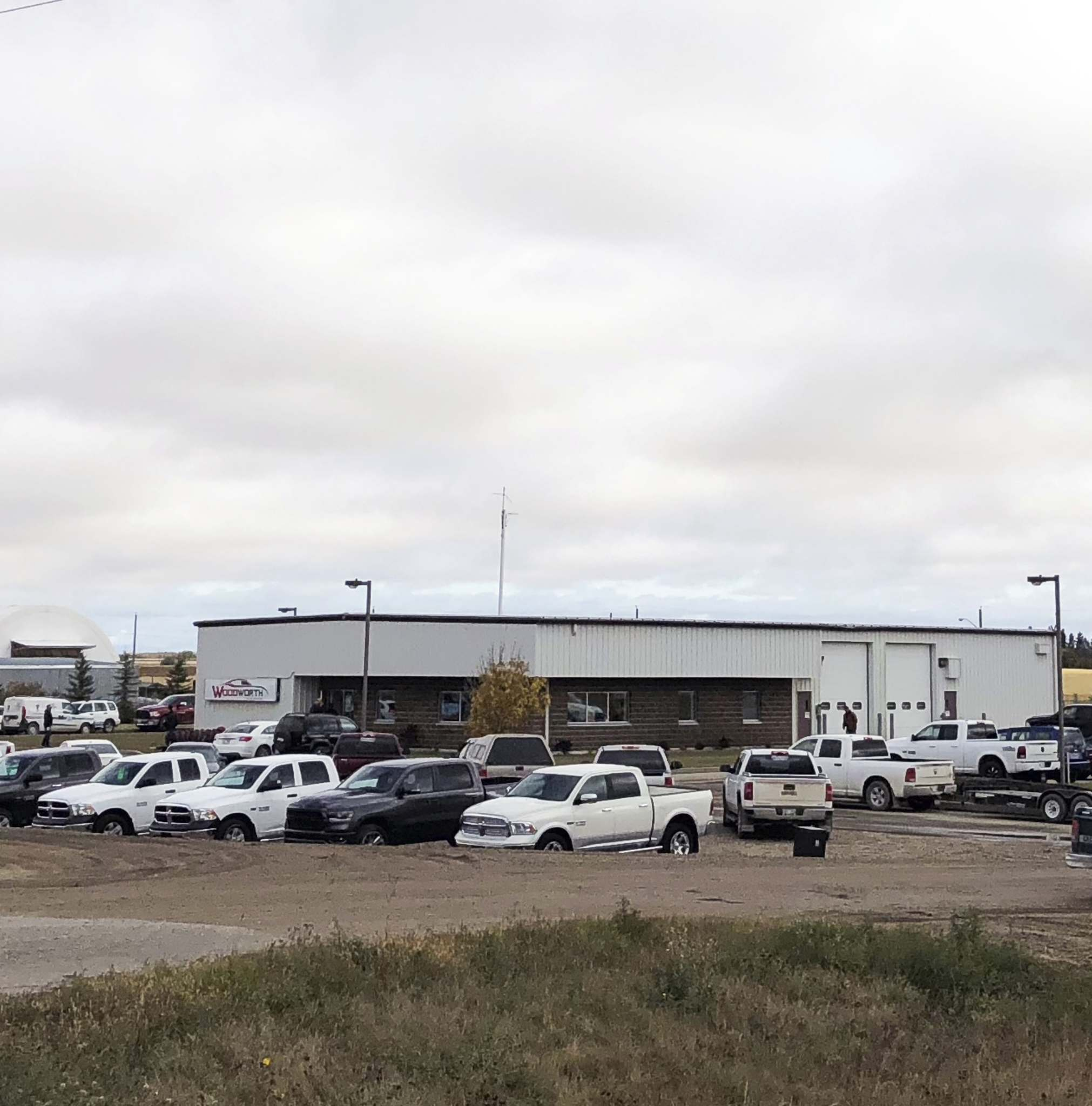 Supplied Woodworth's new Shoal Lake dealership is located in a former Manitoba Hydro building.