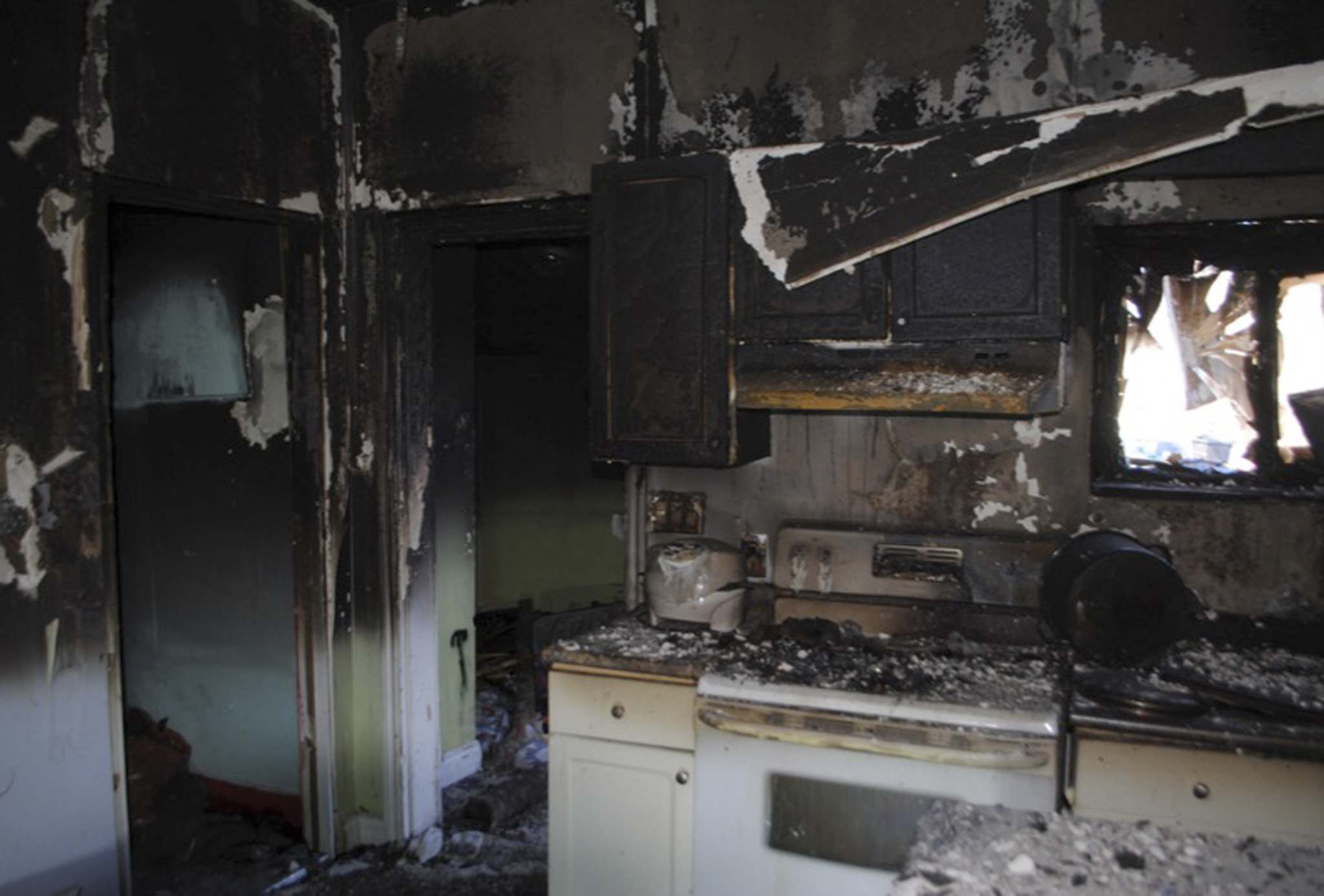SUPPLIED PHOTO</p><p>The kitchen in the Aberdeen Avenue home where Jeanenne Fontaine&#39;s body was found.</p>