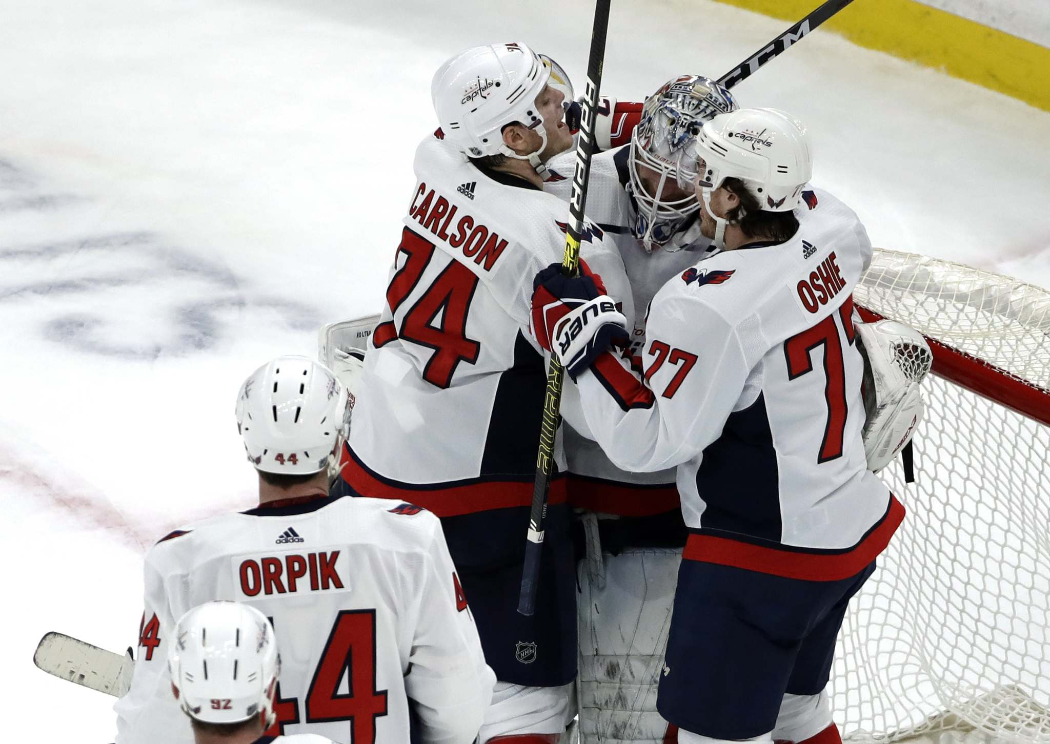 Elise Amendola / The Associated Press</p><p>The Washington Capitals are far above league average in shooting and save percentages, making them the luckiest shooting team in the league.</p>