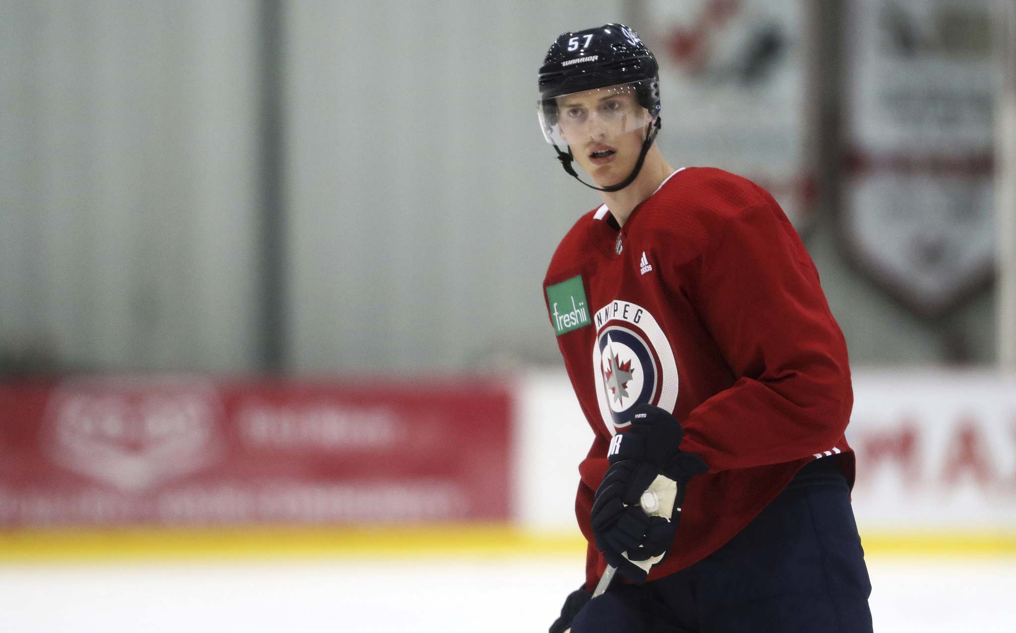 Tyler Myers is considered day-to-day with a lower-body injury. (Trevor Hagan / Free Press files)</p>