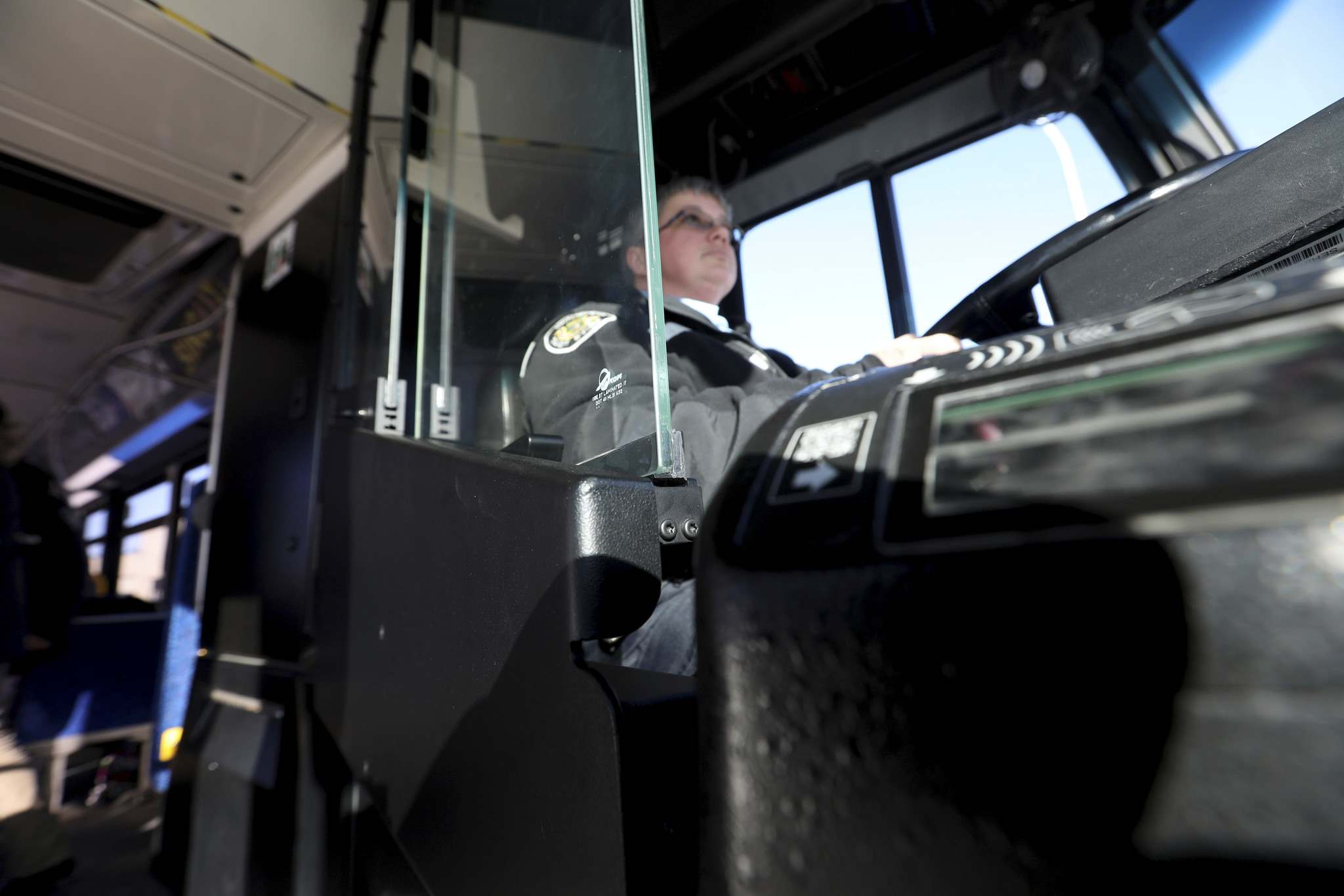 On Tuesday, the city&#39;s public works committee voted to install safety shields on the city&#39;s fleet of 630 buses over the next 18 months. (Ruth Bonneville / Winnipeg Free Press files)</p>