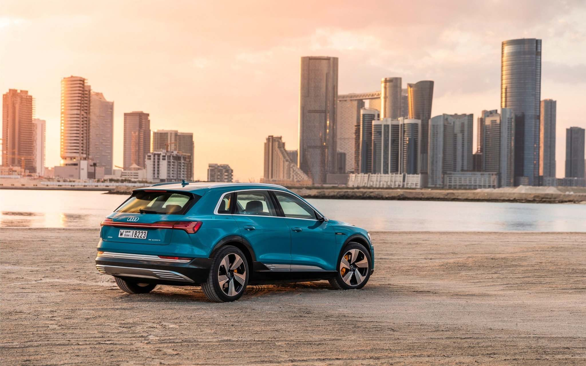 This vehicle will challenge the well-established Tesla Model X and Jaguar I-PACE, as well as Mercedes-Benz's upcoming EQC in the new all-electric SUV segment.
