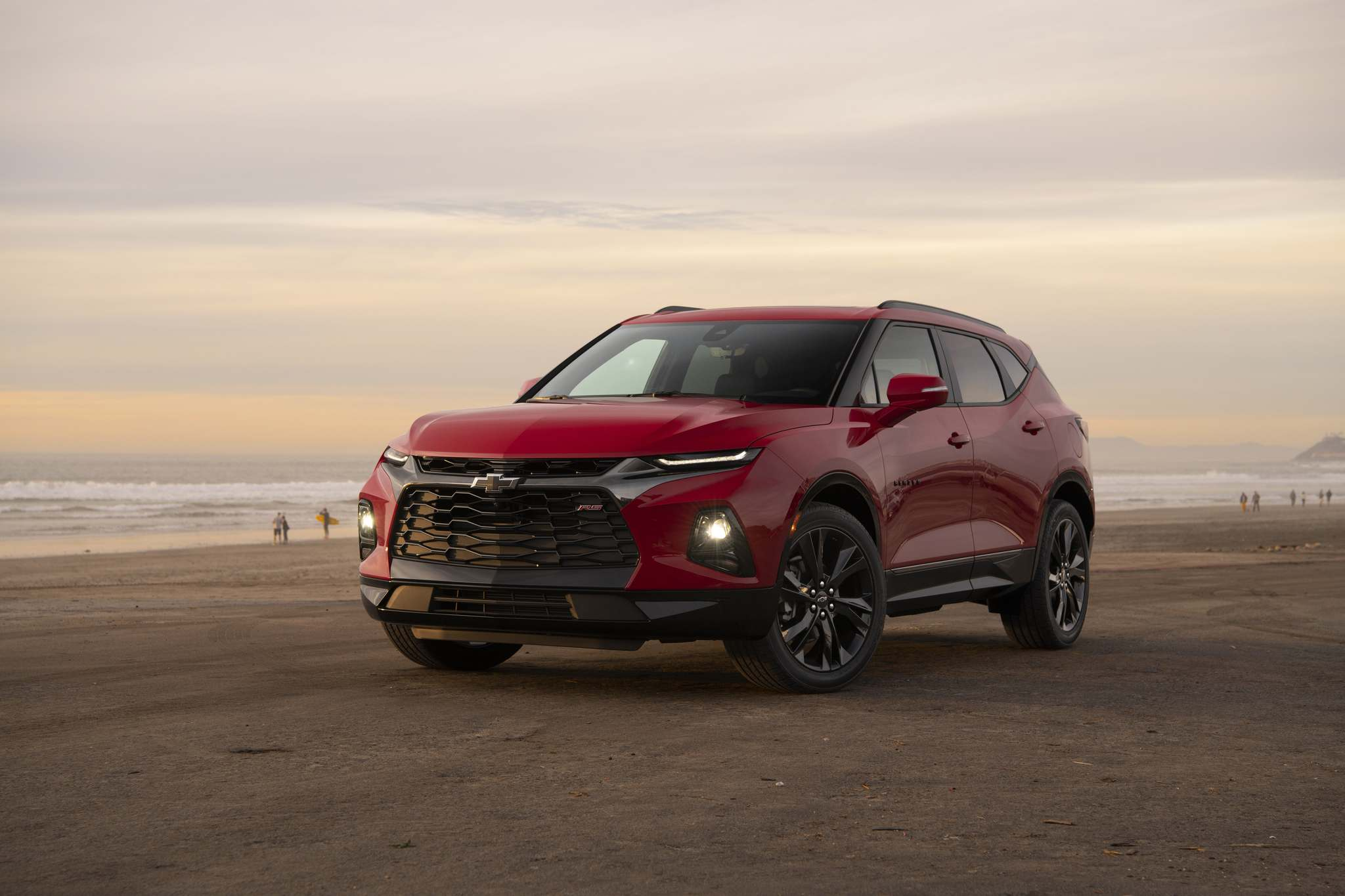 General MotorsChevrolet resurrected the Blazer name from years gone by to adorn its newest five-passenger crosssover SUV.