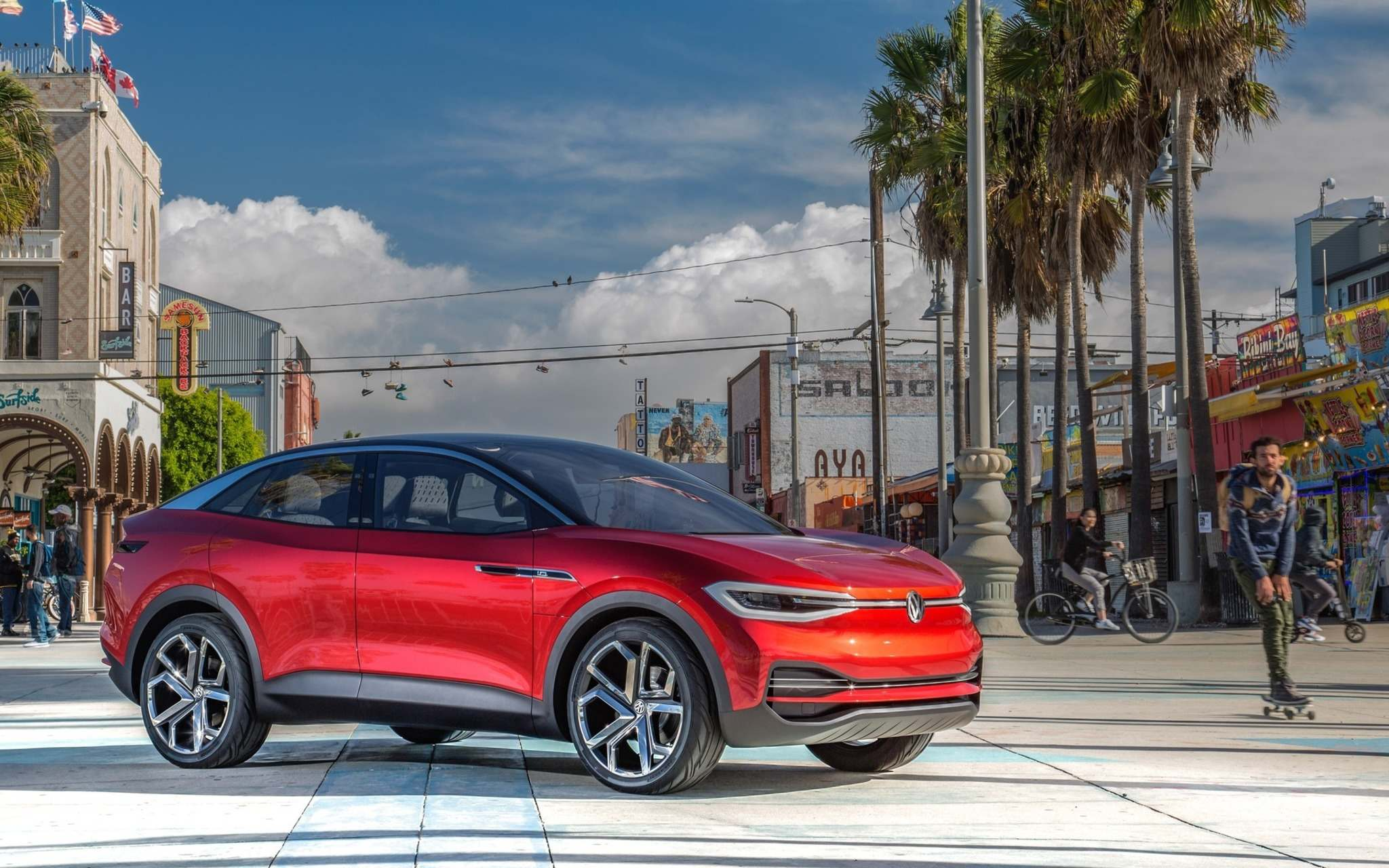 VolkswagenVolkswagen's first electric vehicles based on its new MEB platform will go on sale in Canada in 2020.