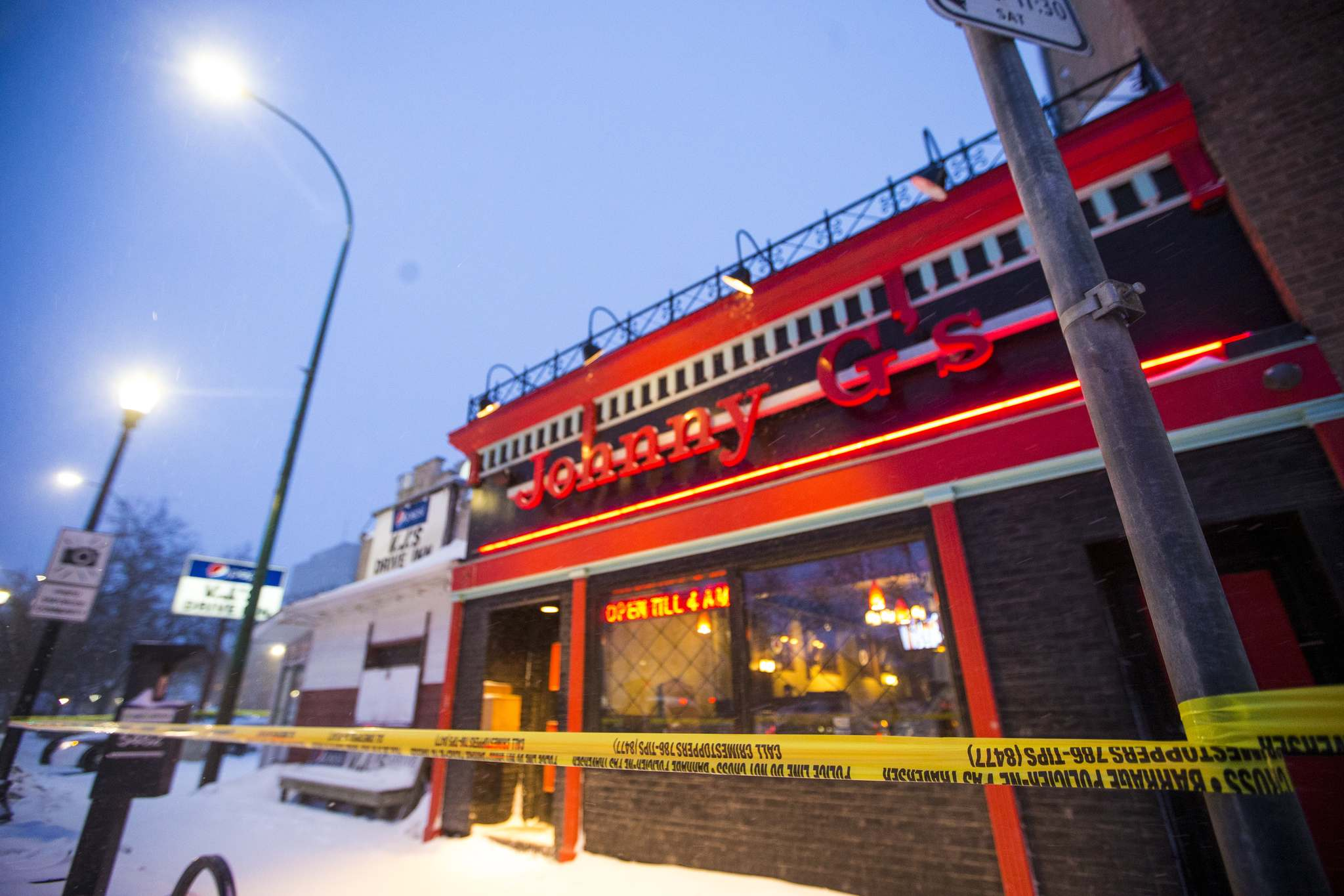 Mikaela Mackenzie / Winnipeg Free Press</p><p>The double homicide was the second fatal shooting in six years at the Main Street restaurant. </p>