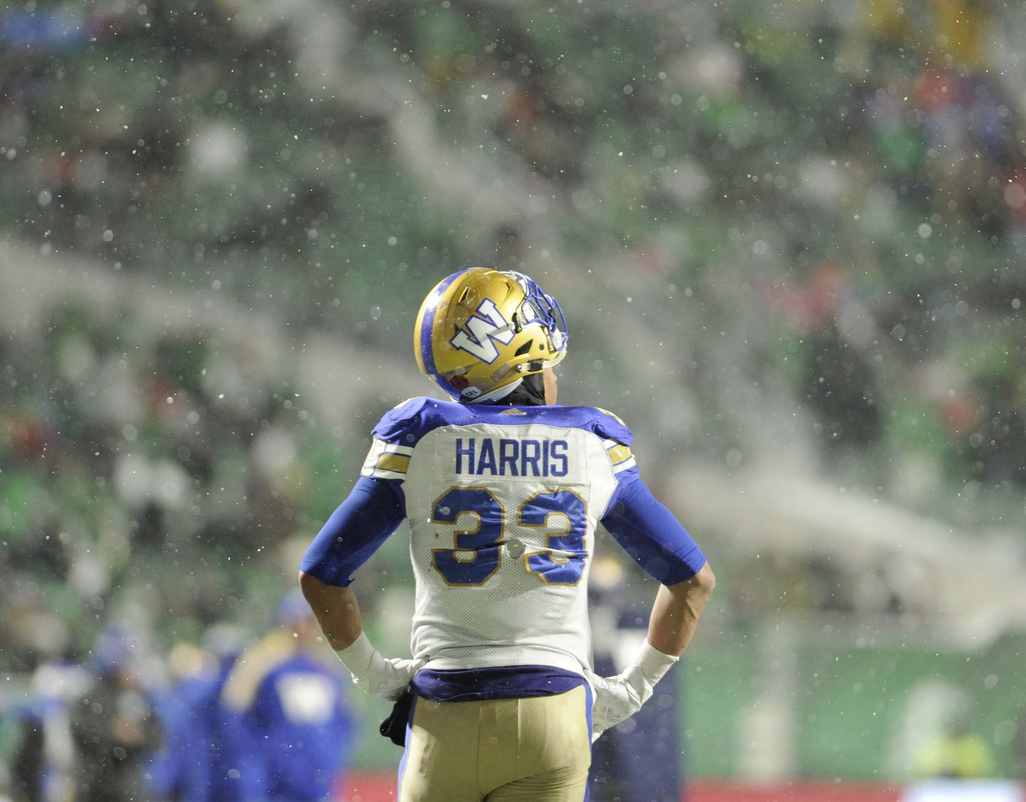<p>Winnipeg Blue Bombers Canadian running back Andrew Harris is an integral part of the offence. He is under contract through 2020.</p></p>