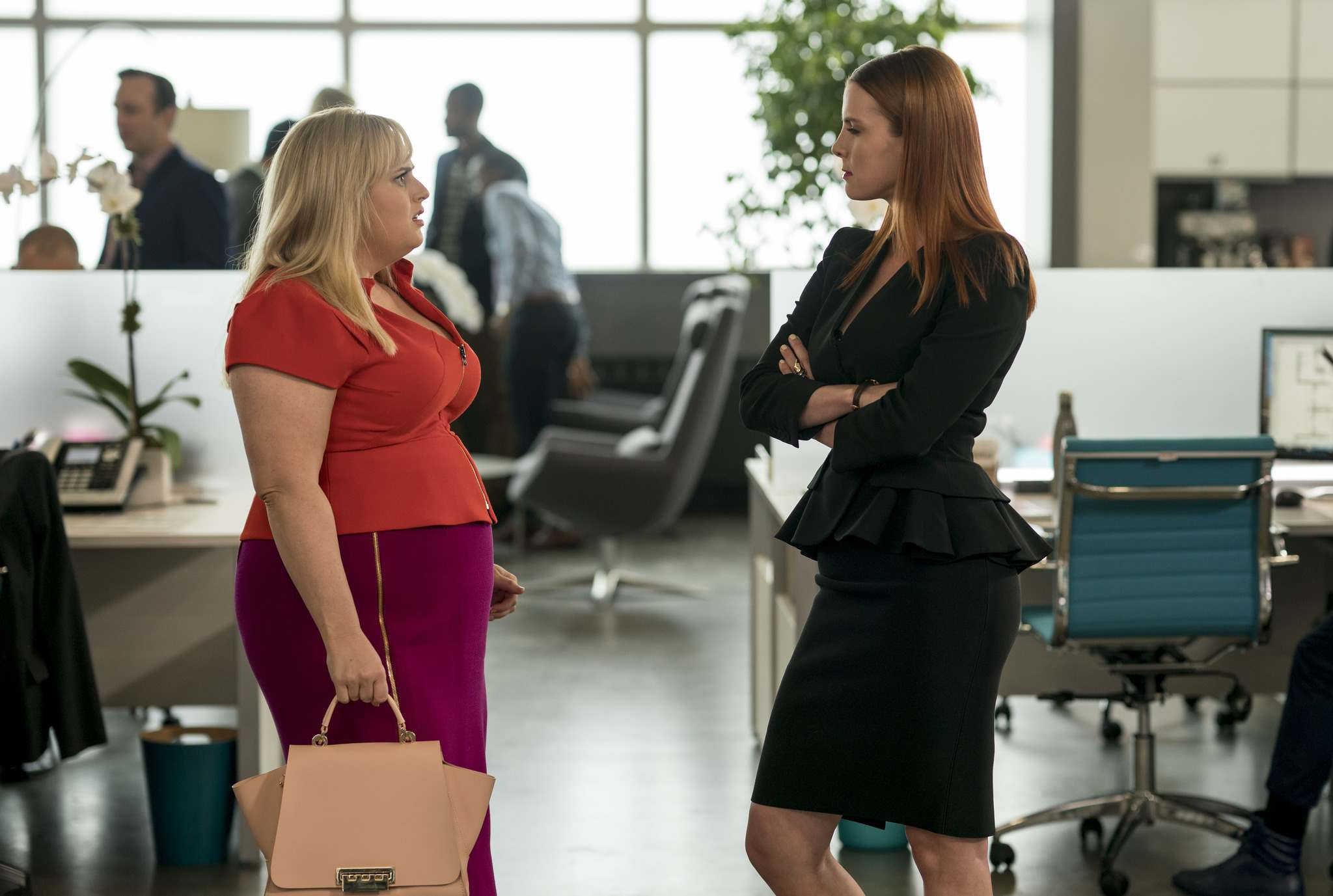 Warner Bros. Pictures</p><p>Rebel Wilson (left) and Betty Gilpin in a scene from Isn't It Romantic.</p>