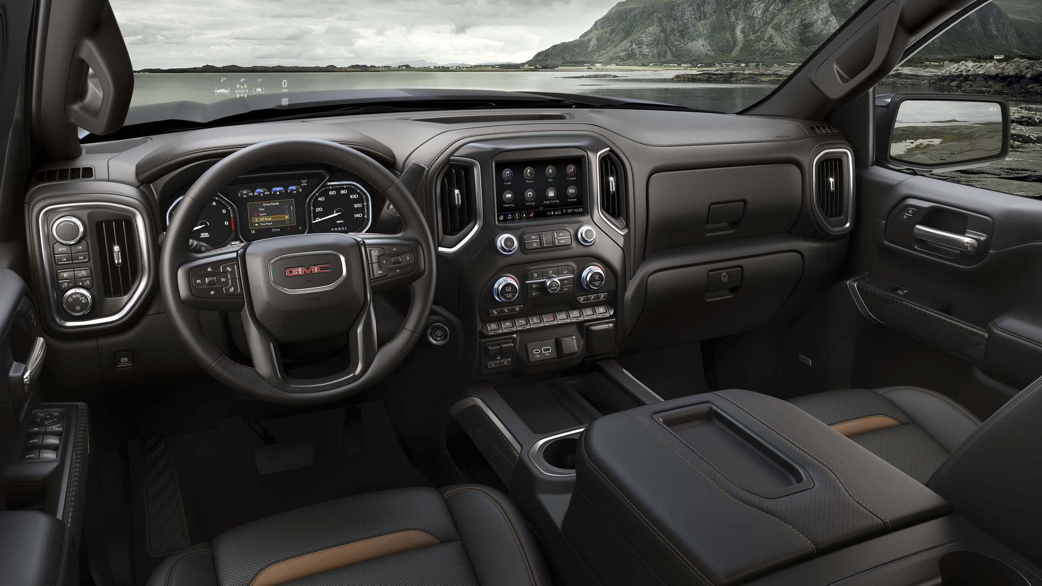 PHOTOS BY GMCGMC's 2019 Sierra AT4 is equipped to take on the rough stuff without trouble, while remaining a comfortable and practical choice.