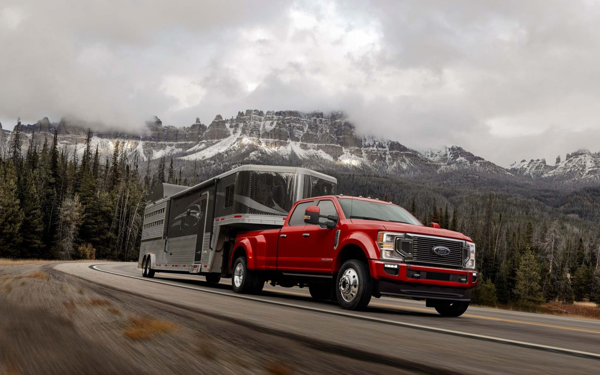 FordThe new Super Duty will be available in the North American market this fall, with what Ford claims will be the sturdiest V-8 engine in the segment.