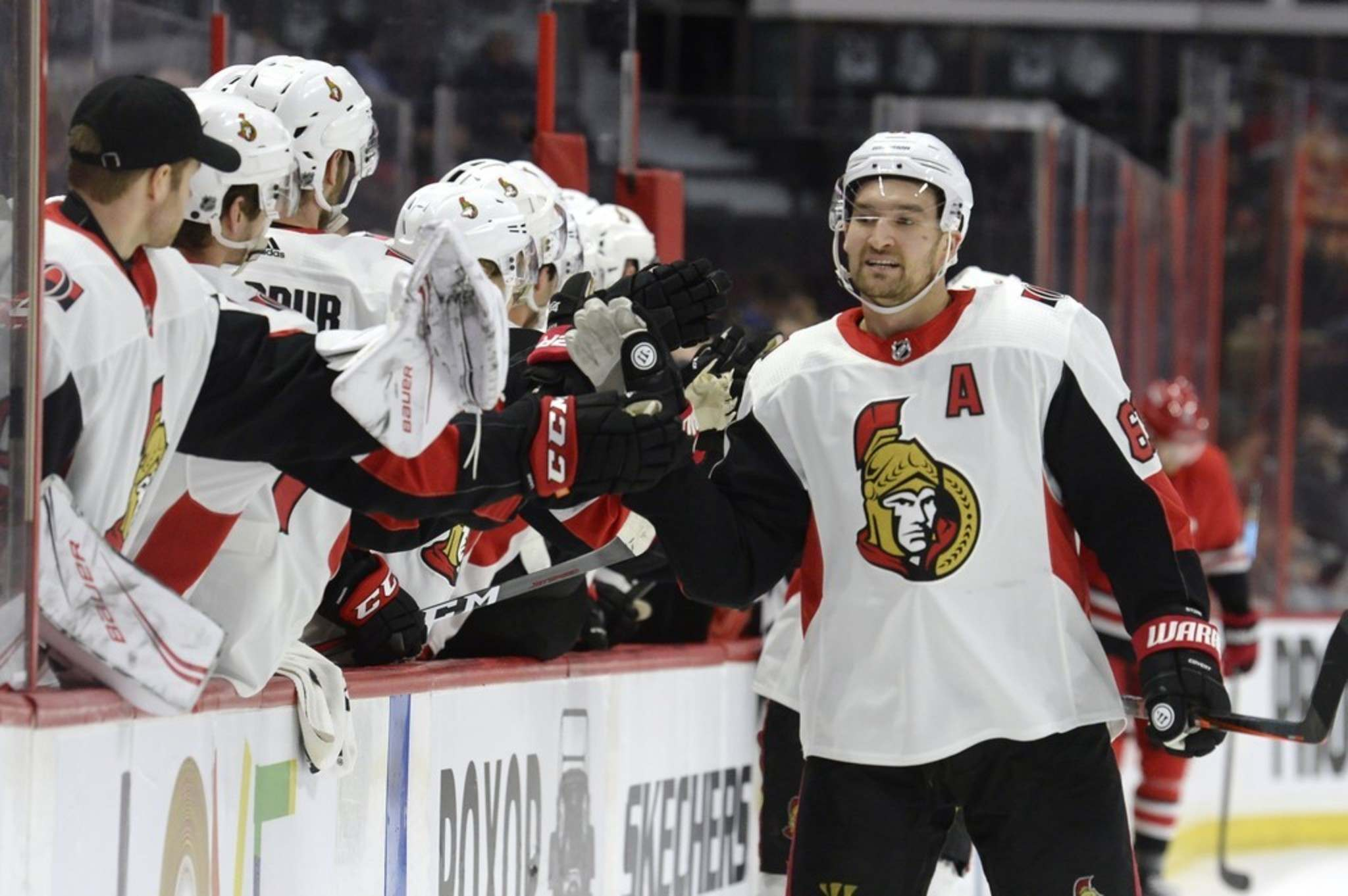 ADRIAN WYLD / THE CANADIAN PRESS FILES <p />   Ottawa Senators alternate captain Mark Stone is one of three players the cellar-dwelling Ottawa Senators may move before next Monday&#39;s trade deadline. The Senators&#39; general manager, Pierre Dorion, spent the weekend in Winnipeg watching prospects and meeting Jets GM Kevin Cheveldayoff.</p>