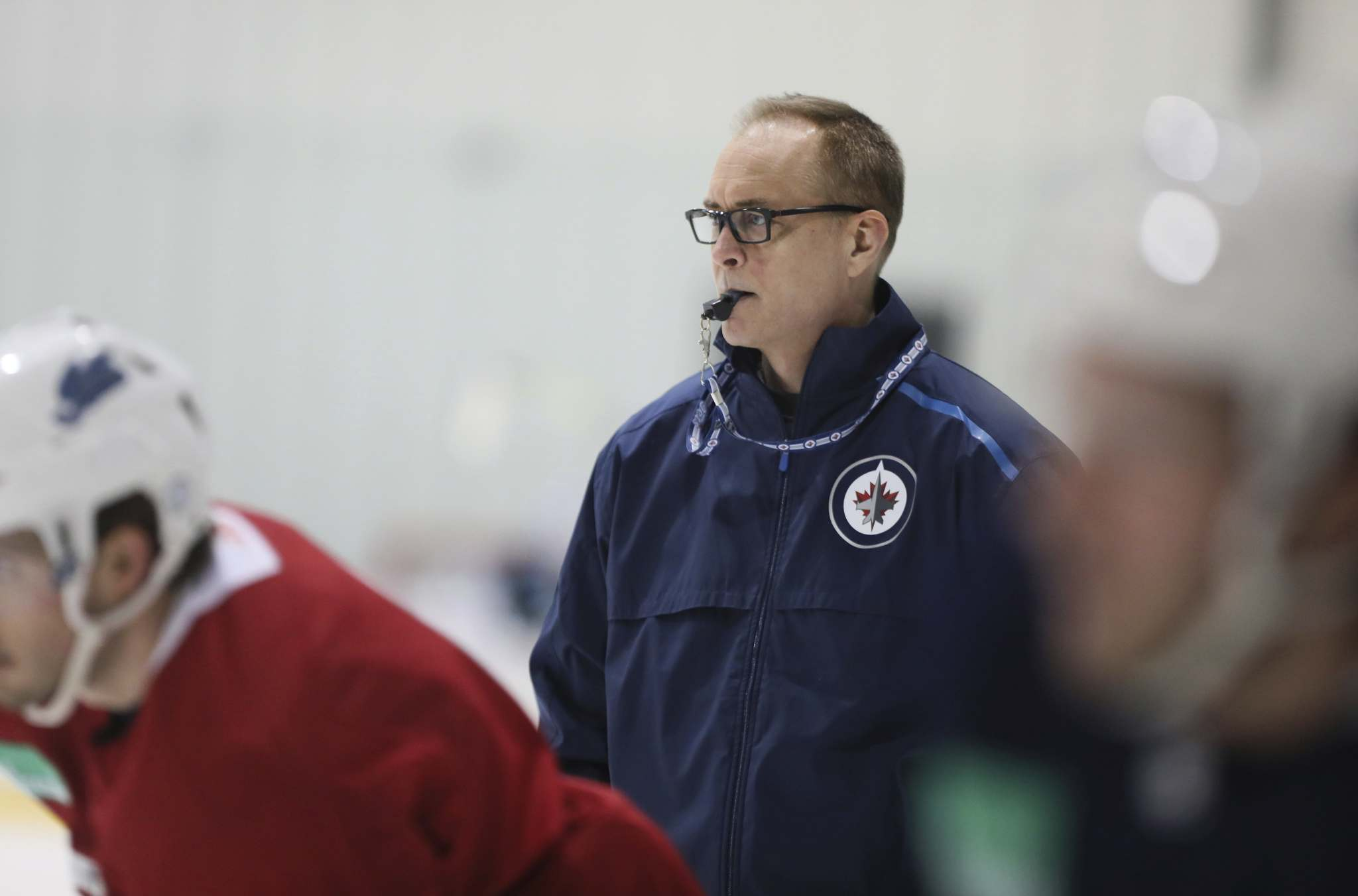 Jets coach Paul Maurice (Ruth Bonneville / Free Press files)