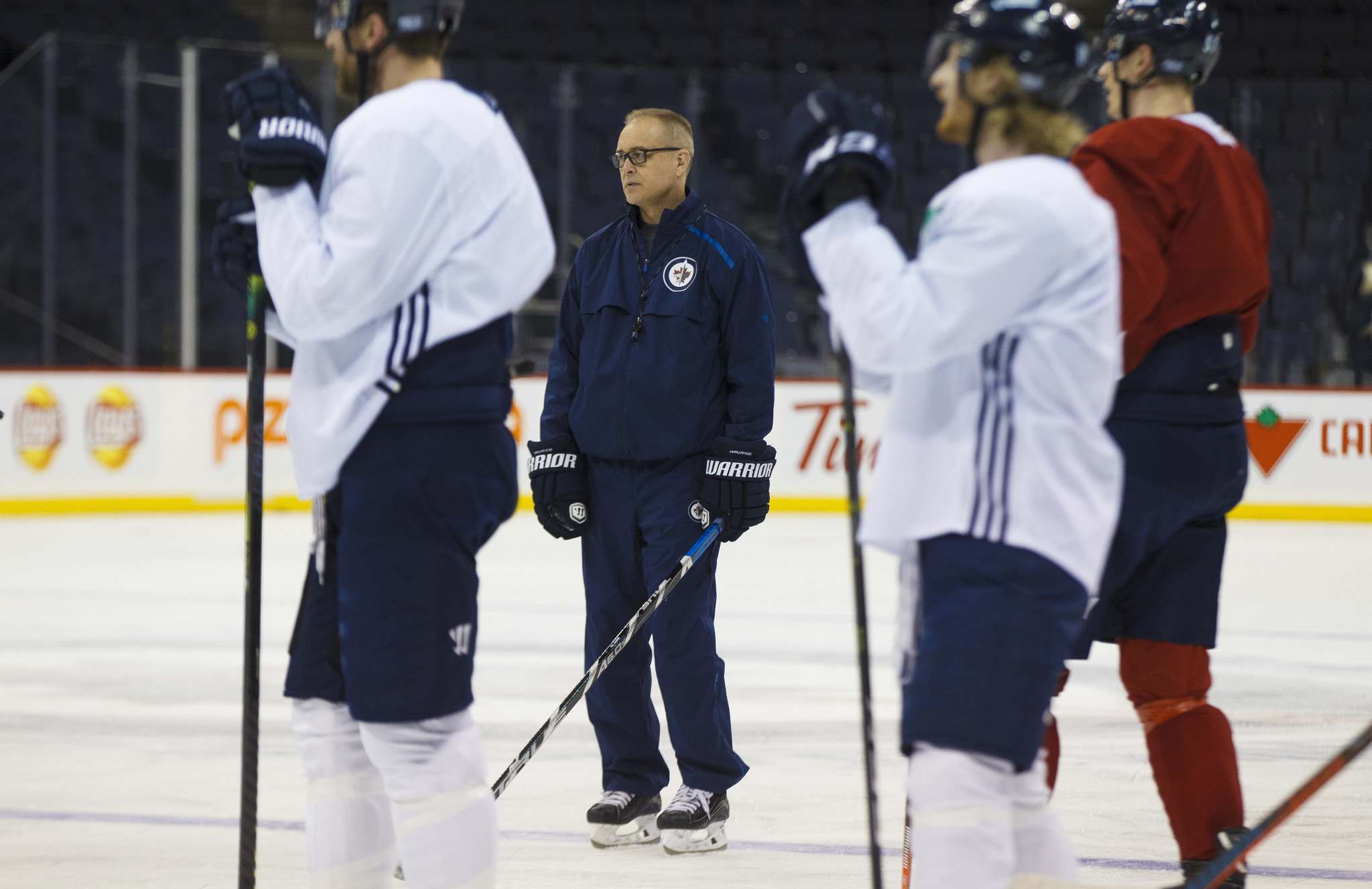 MIKE DEAL / WINNIPEG FREE PRESS FILES</p><p>Winnipeg Jets' head coach Paul Maurice said the team's commitment to defence would be the area of focus for them during practice, Thursday.</p>