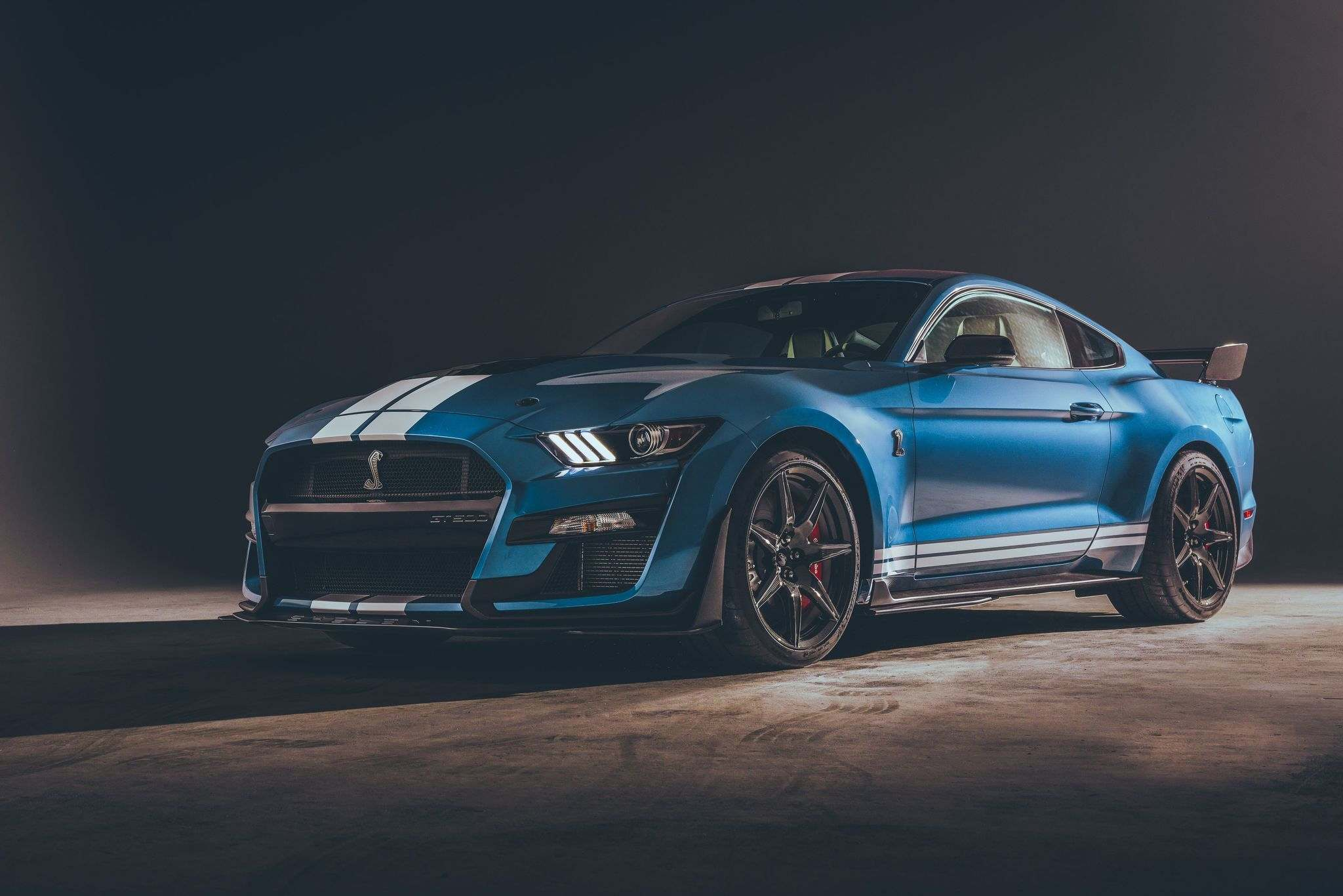 FordThe 2020 Shelby GT500 Mustang can scorch the quarter-mile in less than 11 seconds.