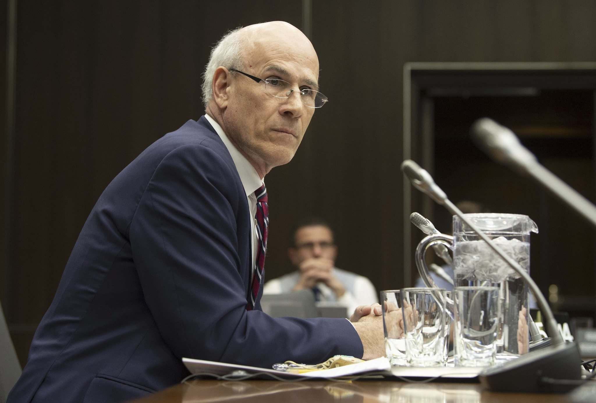 Adrian Wyld / The Canadian Press Files</p><p>Clerk of the Privy Council Michael Wernick appears before the House of Commons justice committee meeting on Feb. 21.</p>