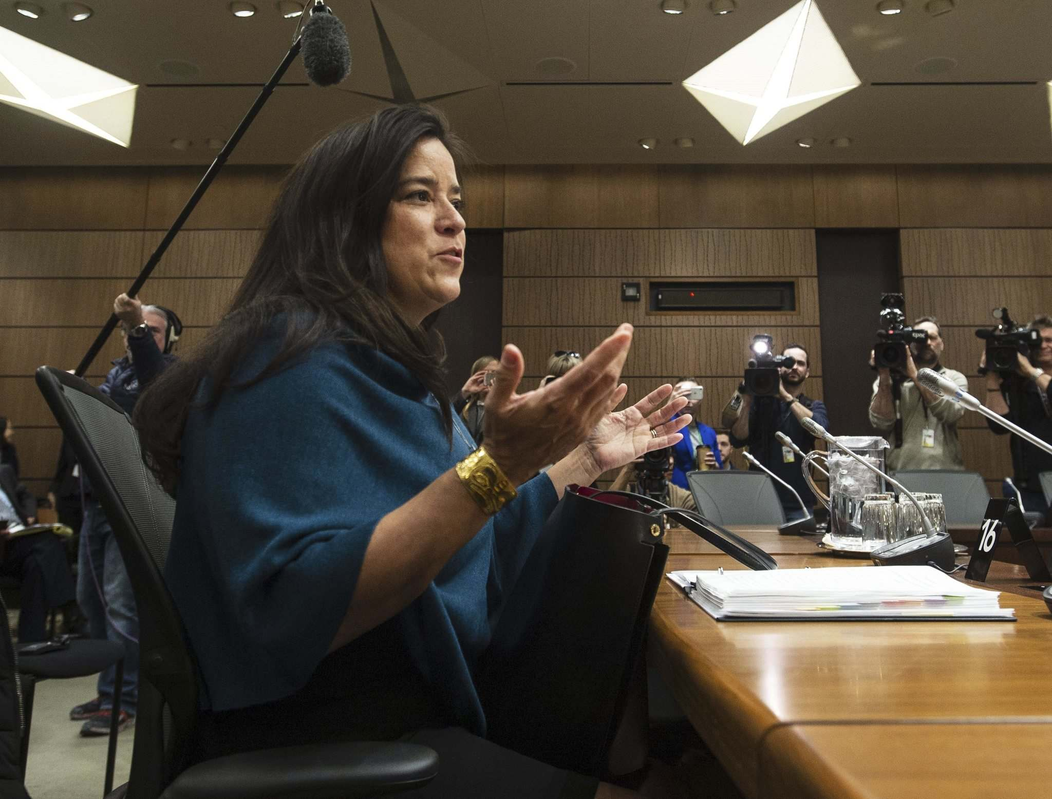 Sean Kilpatrick / The Canadian Press files</p><p>Jody Wilson-Raybould, testifying before the House of Commons justice committee in Ottawa, says she faced 'veiled threats' over the SNC-Lavalin situation.</p>