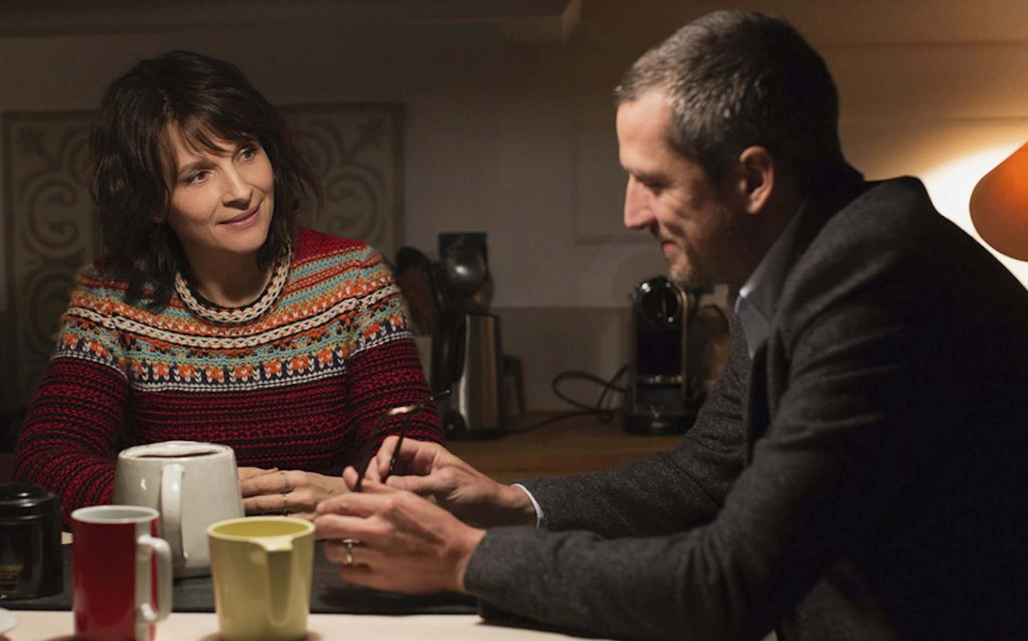 Juliette Binoche and Guillaume Canet star in the film Non-Fiction (Double Vies). (Sundance Selects photo)