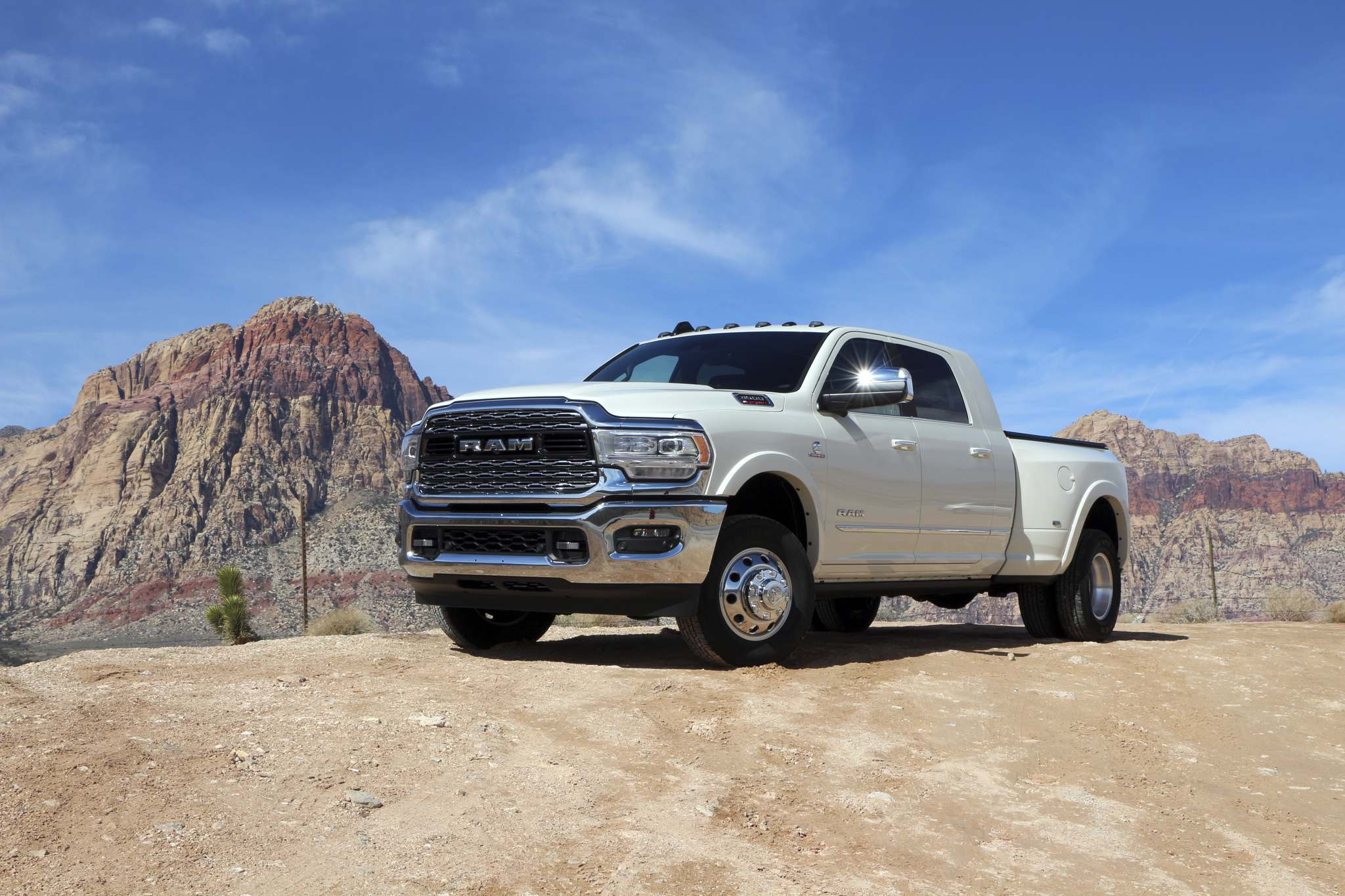 Harry Pegg / Winnipeg Free PressThe 2019 Ram HD is the latest model to tackle the competitive heavy-duty pickup truck market. Featuring opulent interior choices and powertrains able to tow as much as 35,100 pounds, the Ram HD lives up to its name.