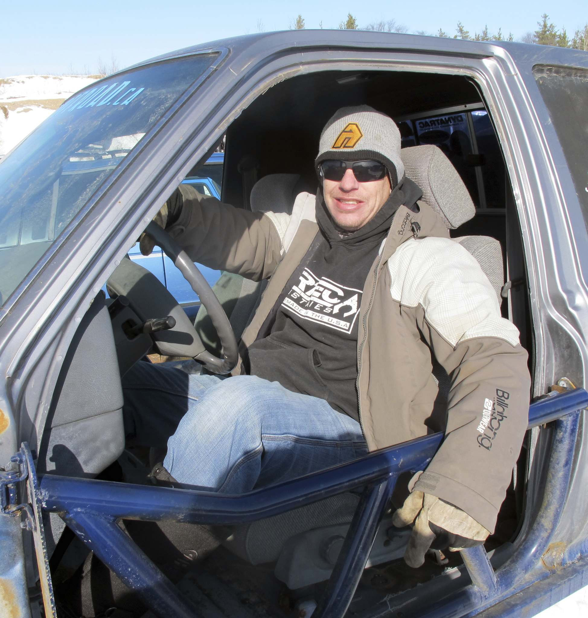 Willy Williamson / Winnipeg Free PressSteve Rempel, the main organizer of Manitoba Winter Mega Run, expects more than 500 vehicles and several thousand off-road enthusiasts will attend the annual event.